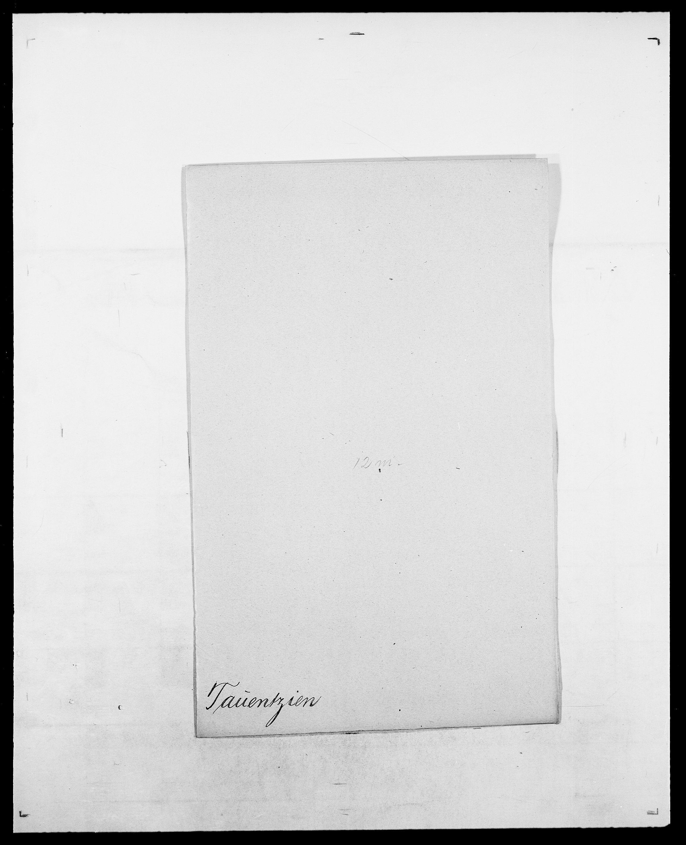 SAO, Delgobe, Charles Antoine - samling, D/Da/L0038: Svanenskjold - Thornsohn, s. 349