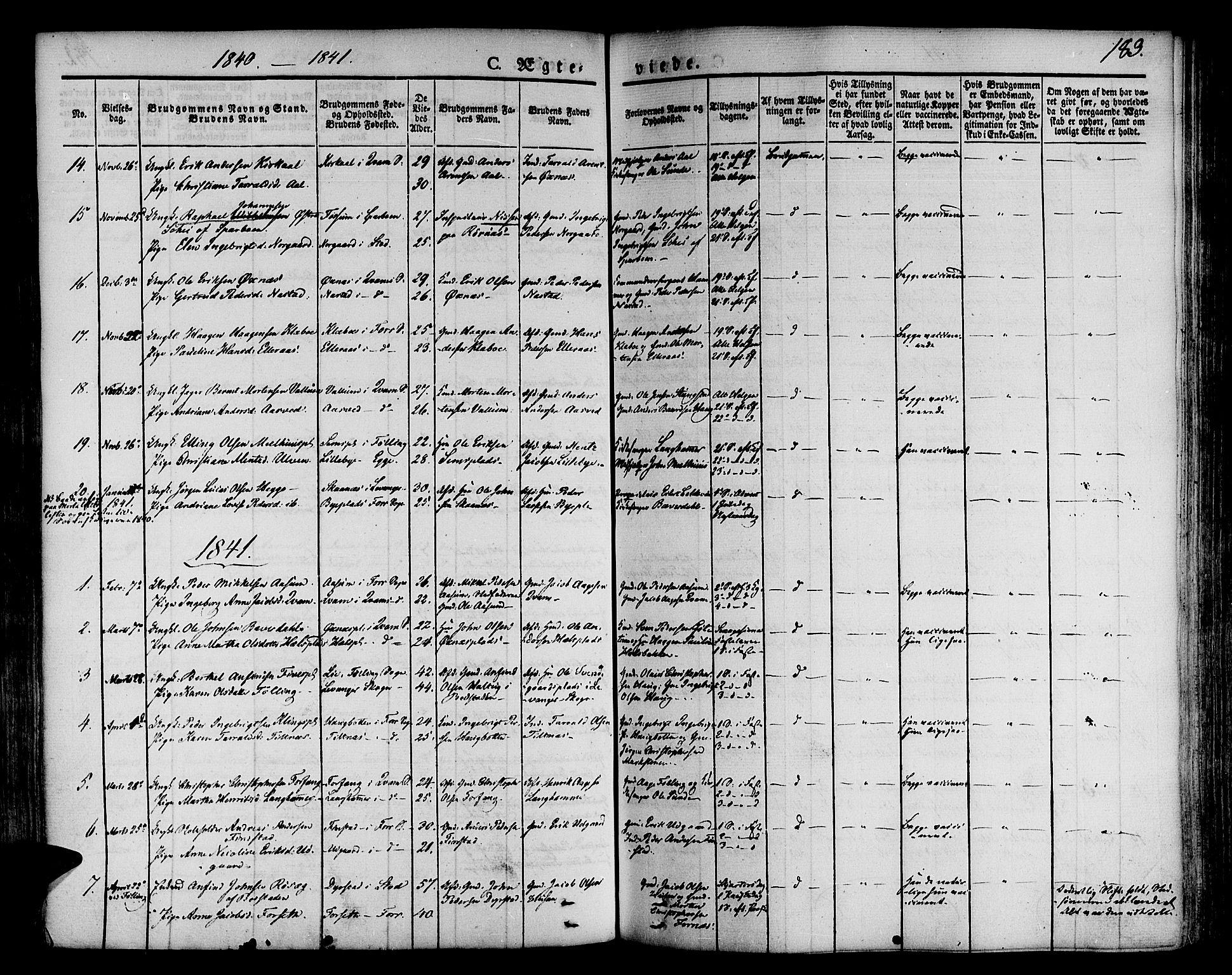 SAT, Ministerialprotokoller, klokkerbøker og fødselsregistre - Nord-Trøndelag, 746/L0445: Ministerialbok nr. 746A04, 1826-1846, s. 183