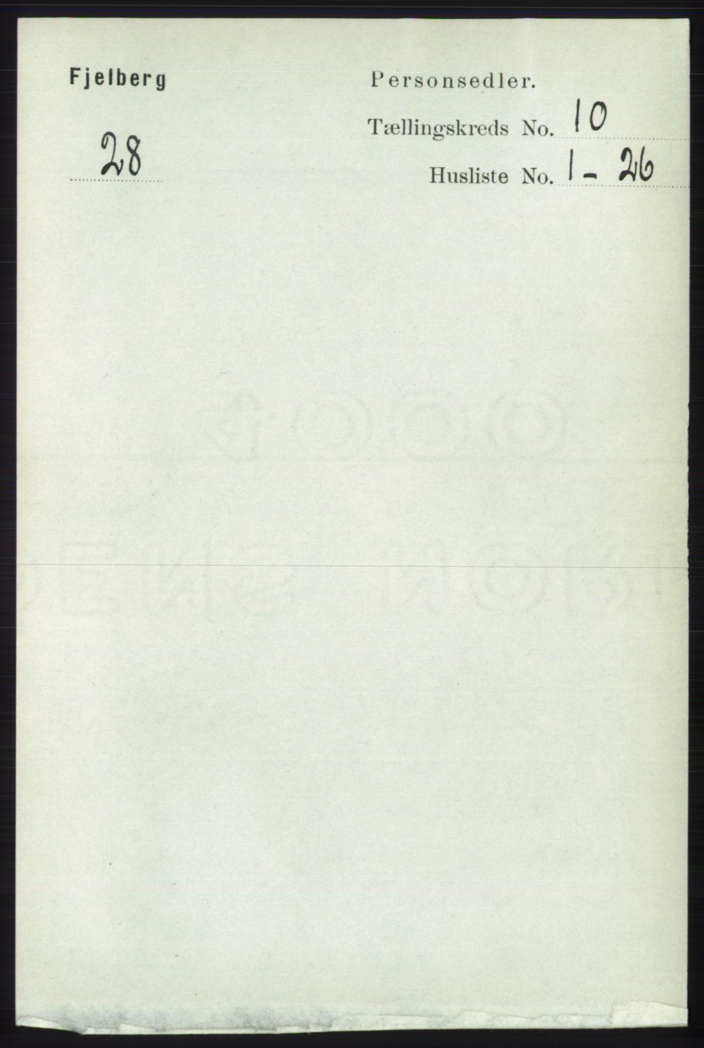 RA, Folketelling 1891 for 1213 Fjelberg herred, 1891, s. 3785