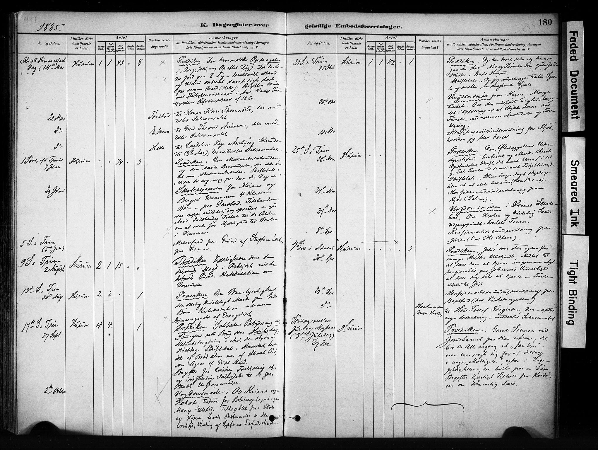 SAH, Vang prestekontor, Valdres, Ministerialbok nr. 9, 1882-1914, s. 180