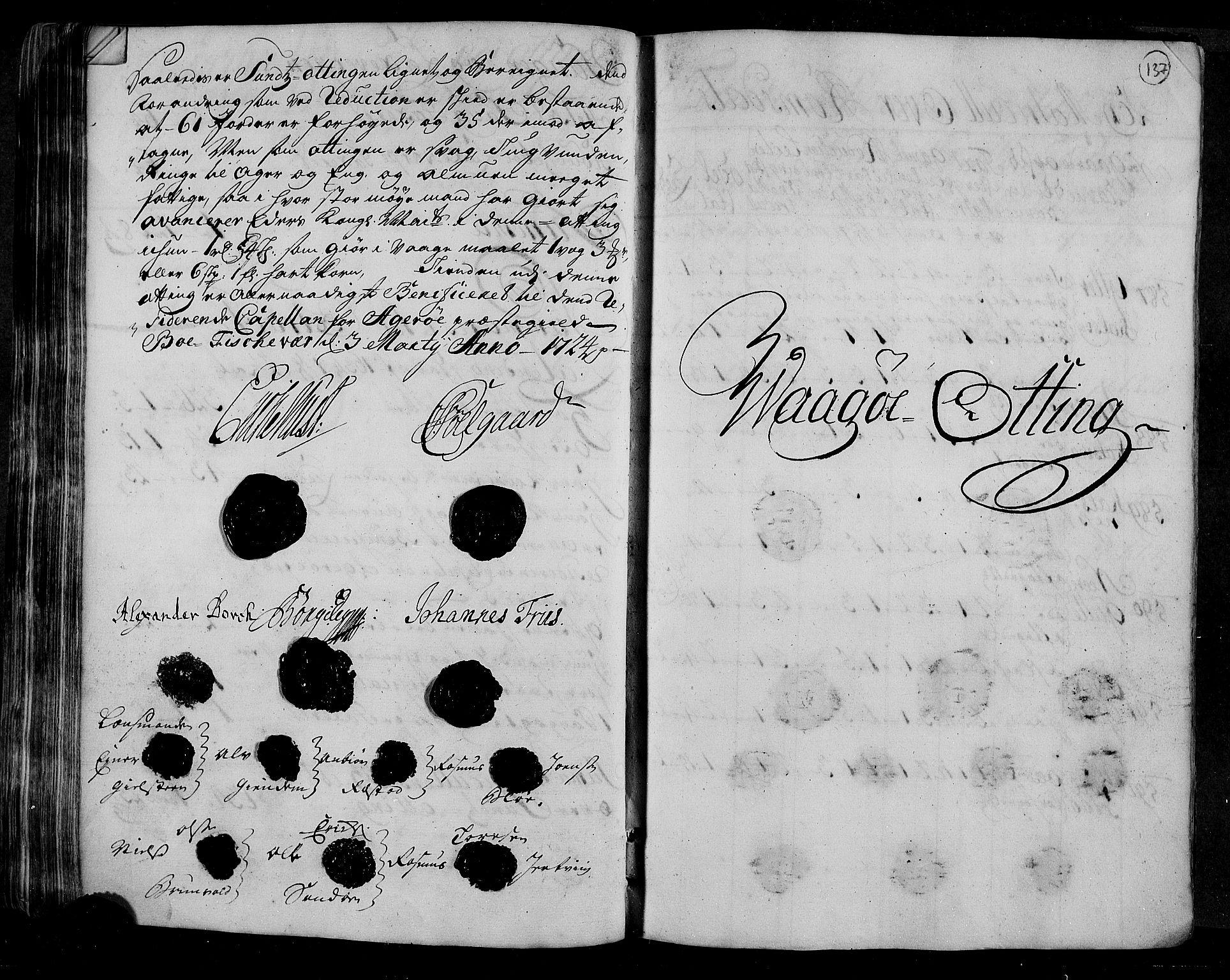 RA, Rentekammeret inntil 1814, Realistisk ordnet avdeling, N/Nb/Nbf/L0153: Romsdal matrikkelprotokoll, 1724, s. 136b-137a