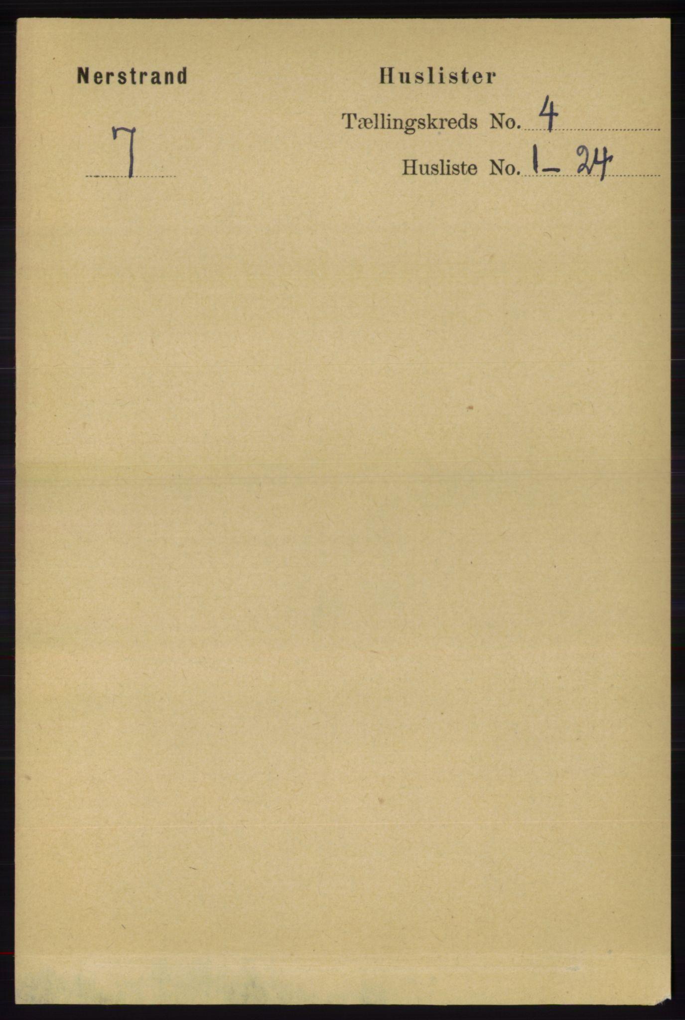 RA, Folketelling 1891 for 1139 Nedstrand herred, 1891, s. 621