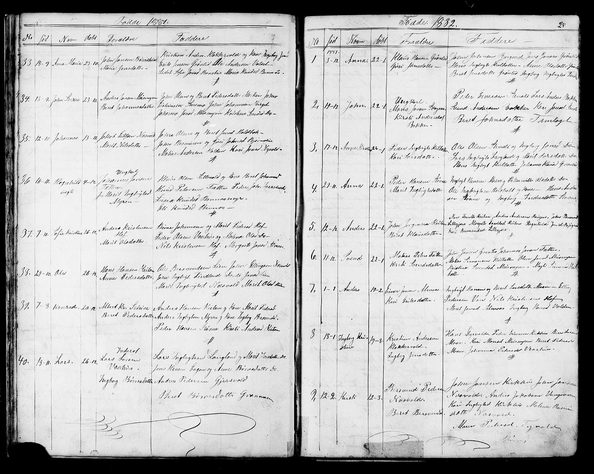 SAT, Ministerialprotokoller, klokkerbøker og fødselsregistre - Sør-Trøndelag, 686/L0985: Klokkerbok nr. 686C01, 1871-1933, s. 25