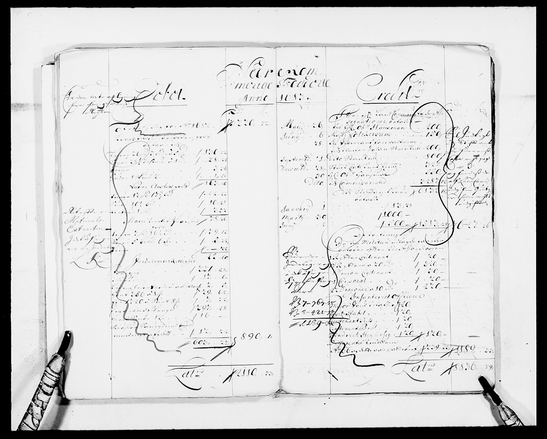 RA, Rentekammeret inntil 1814, Reviderte regnskaper, Fogderegnskap, R11/L0573: Fogderegnskap Nedre Romerike, 1679-1688, s. 160