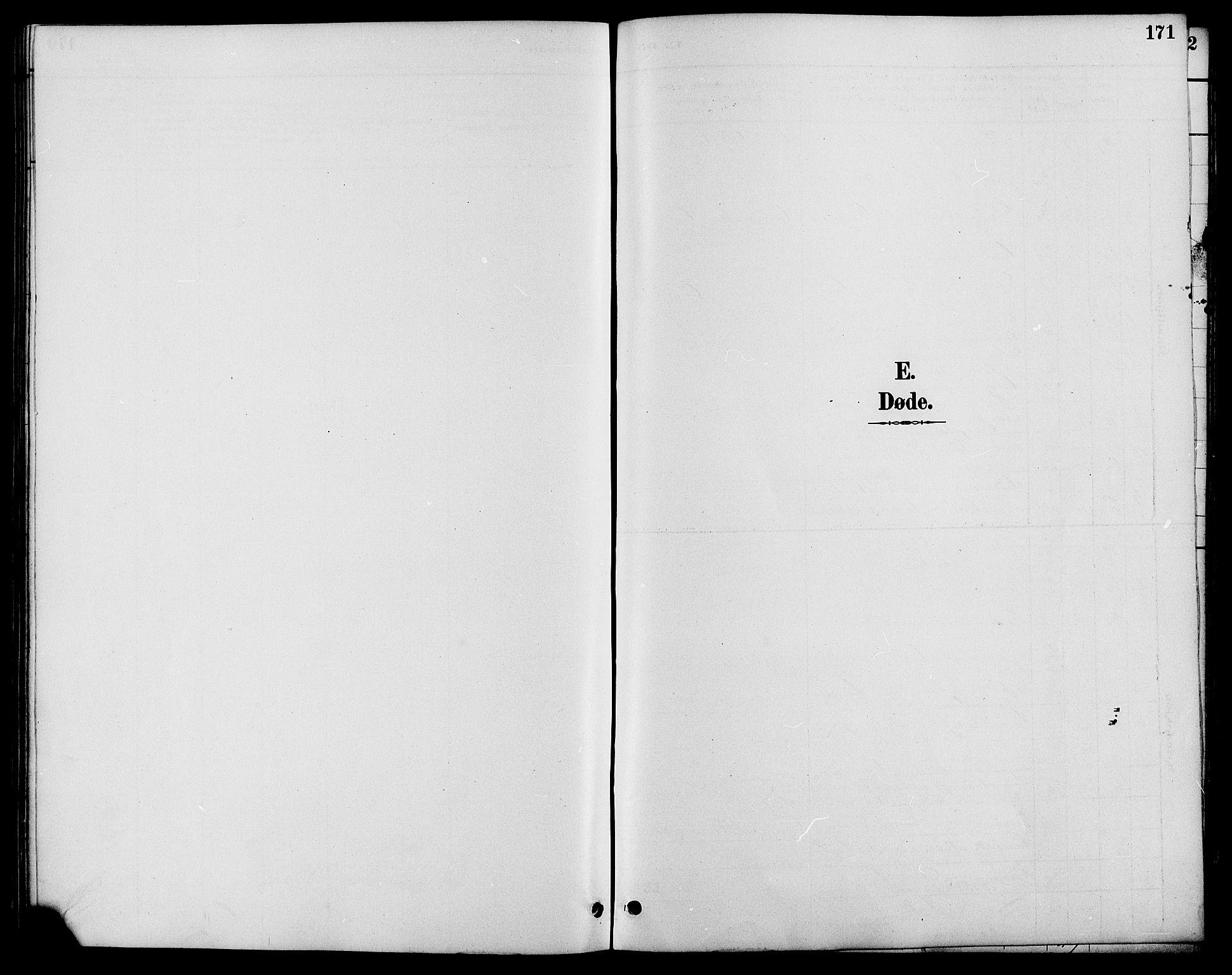 SAH, Nord-Fron prestekontor, Klokkerbok nr. 6, 1887-1914, s. 171