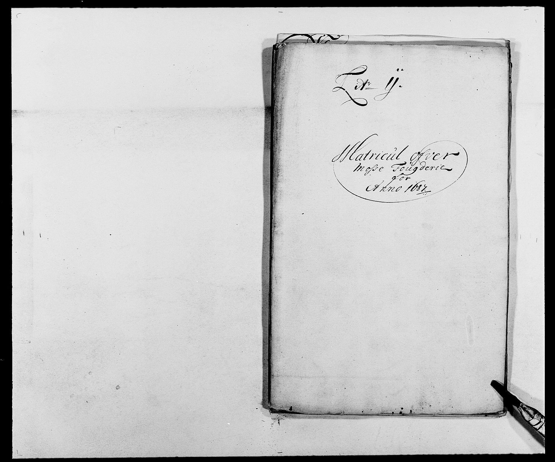 RA, Rentekammeret inntil 1814, Reviderte regnskaper, Fogderegnskap, R02/L0105: Fogderegnskap Moss og Verne kloster, 1685-1687, s. 323