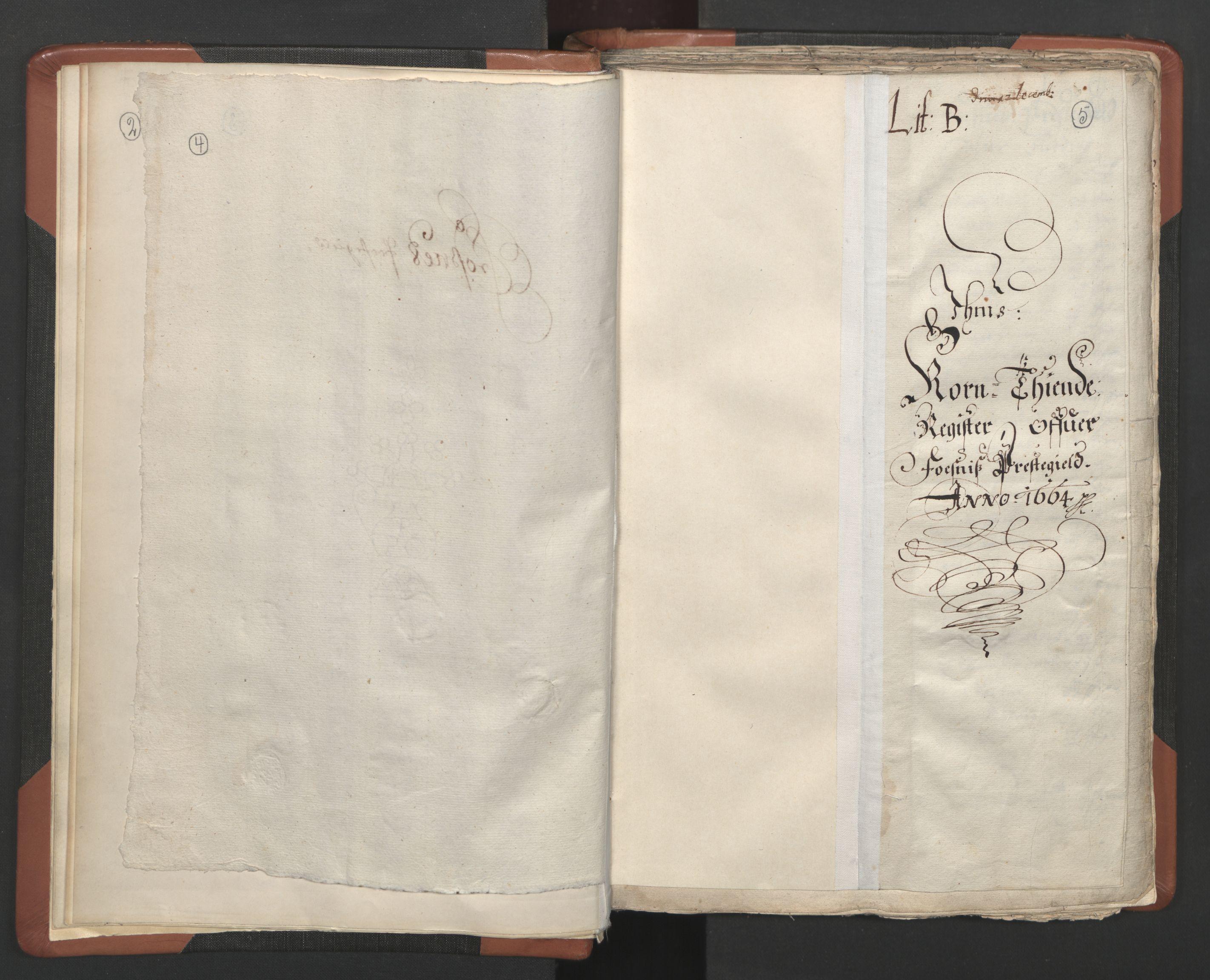RA, Sogneprestenes manntall 1664-1666, nr. 34: Namdal prosti, 1664-1666, s. 4-5