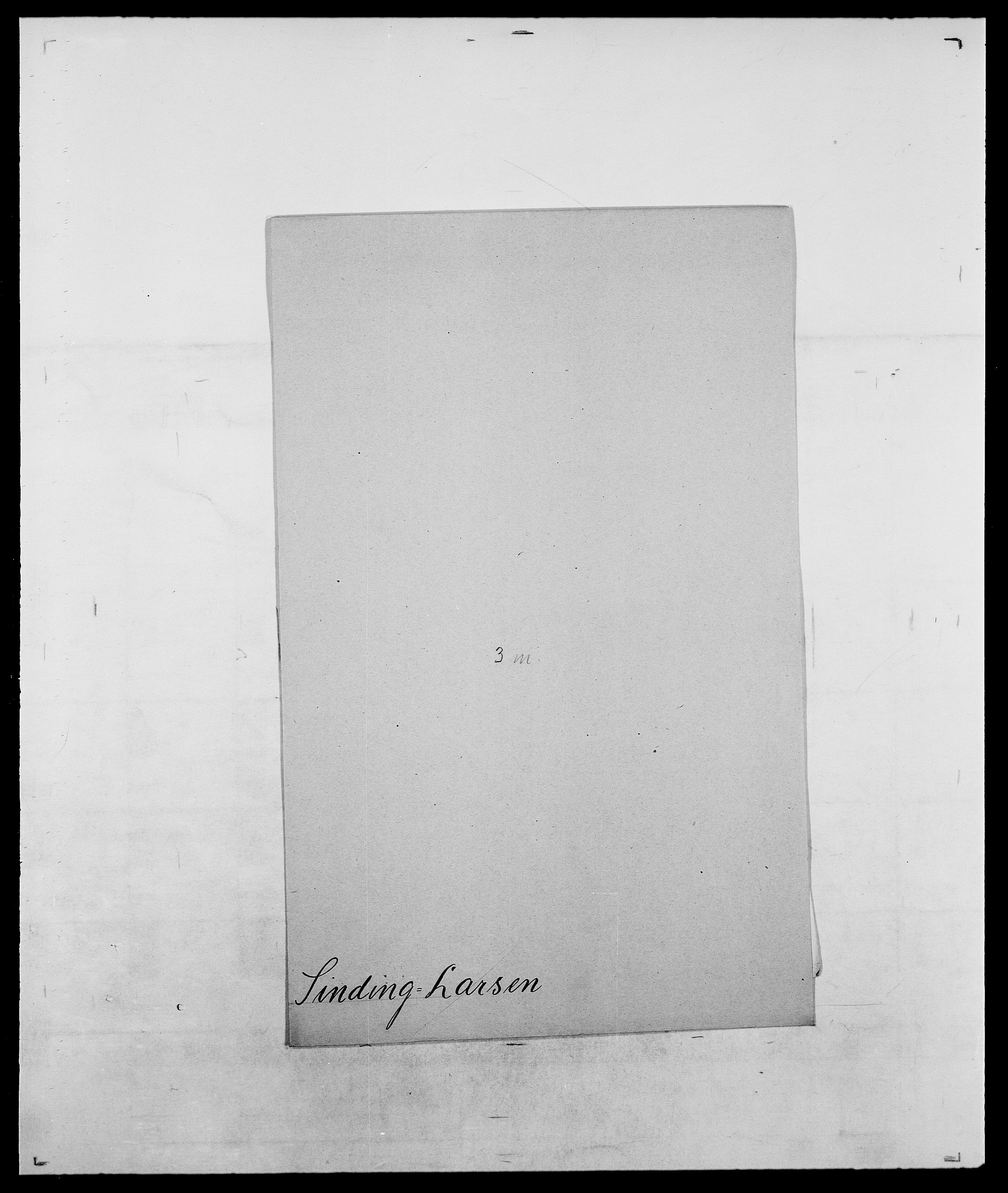 SAO, Delgobe, Charles Antoine - samling, D/Da/L0035: Schnabel - sjetman, s. 926