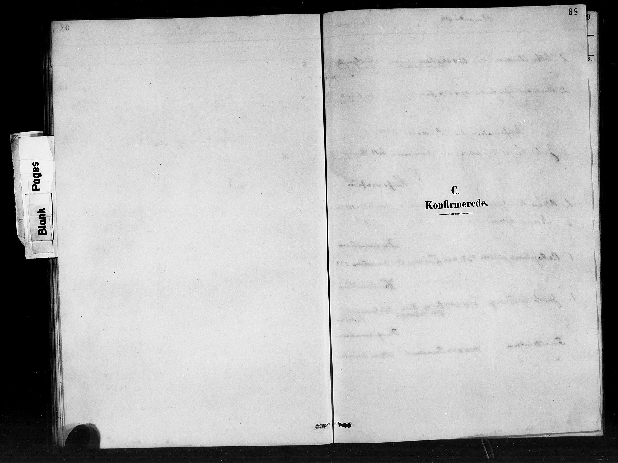 SAB, Den Norske Sjømannsmisjon i utlandet*, Ministerialbok nr. A 1, 1888-1898, s. 38