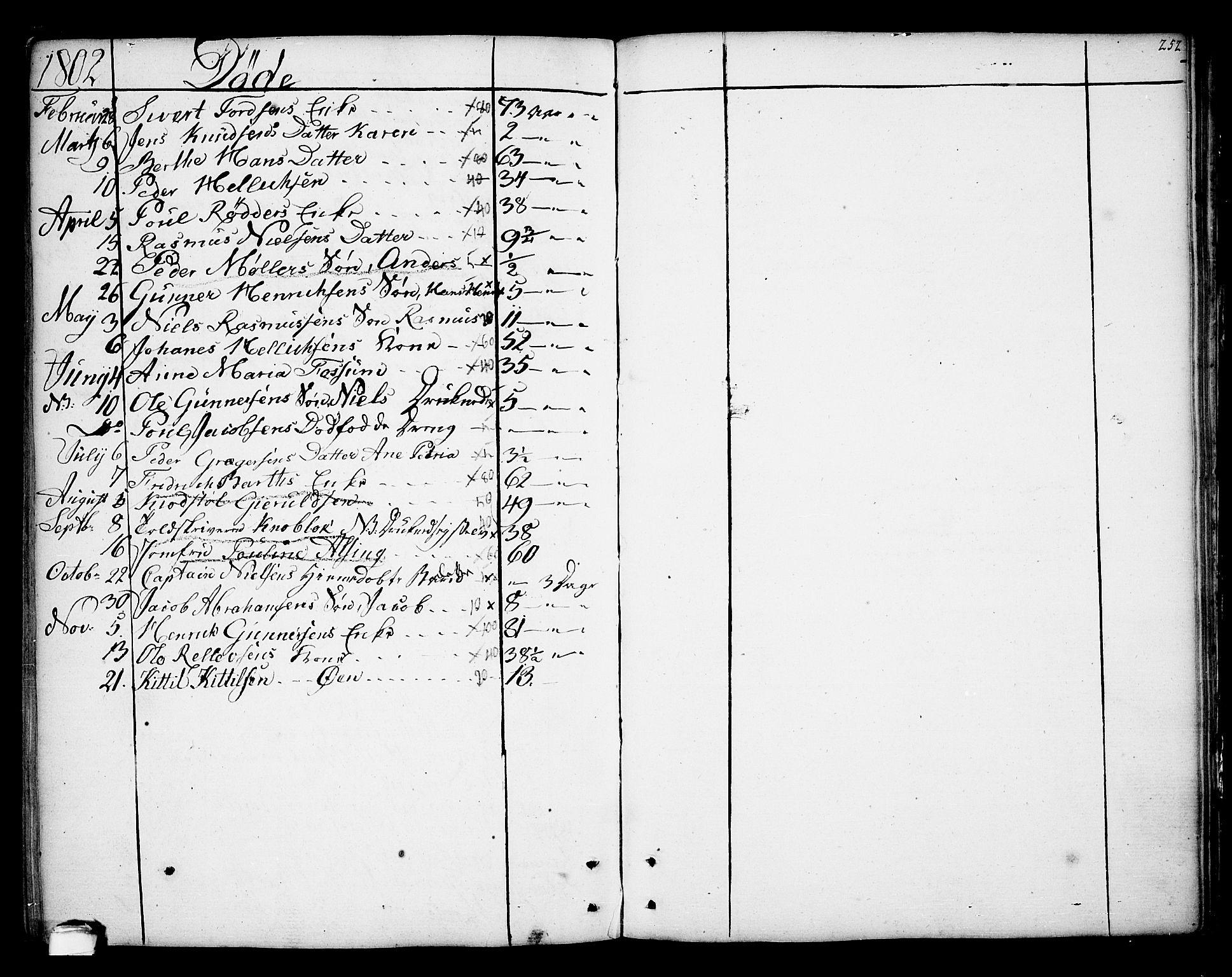 SAKO, Kragerø kirkebøker, F/Fa/L0002: Ministerialbok nr. 2, 1767-1802, s. 252