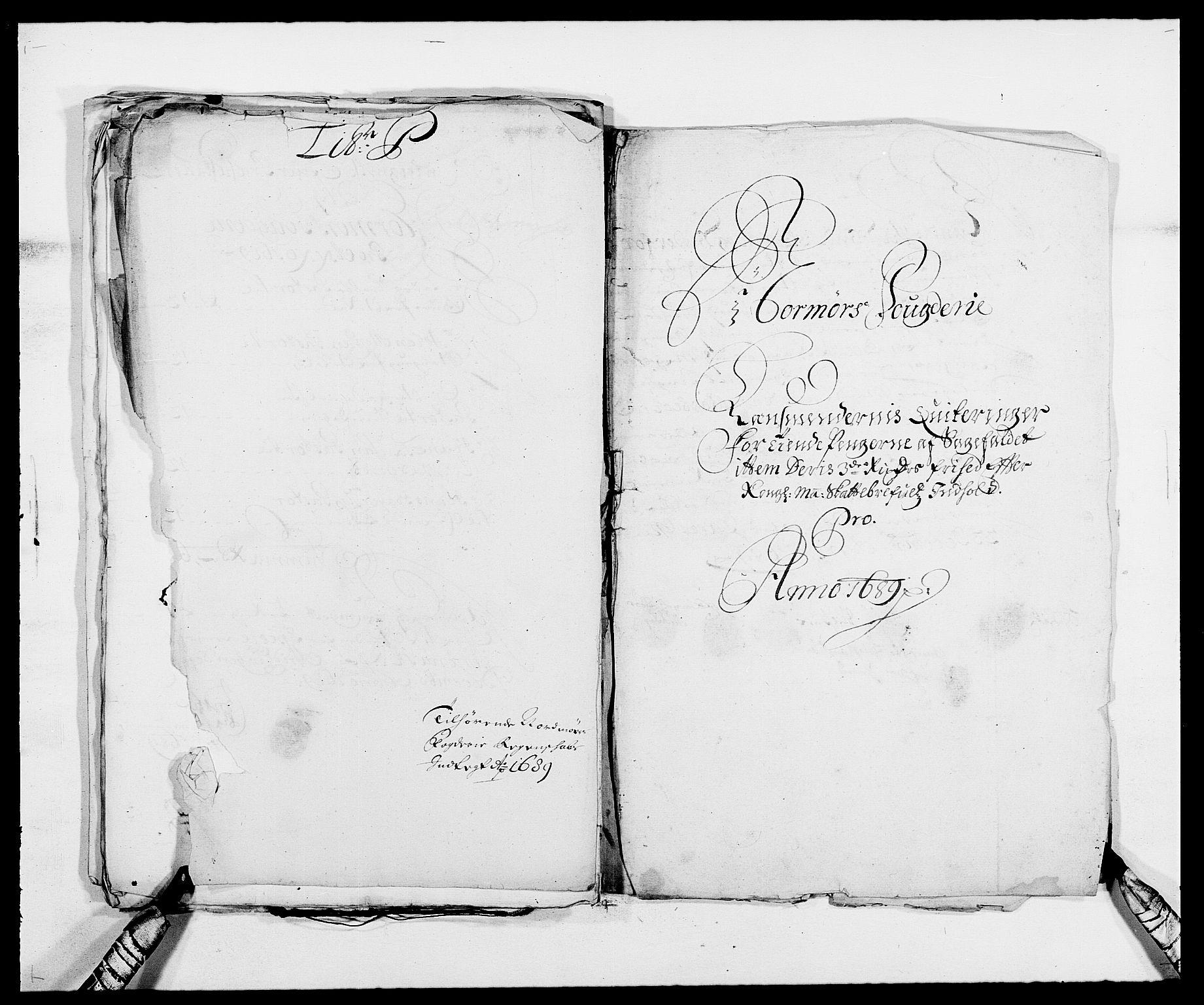 RA, Rentekammeret inntil 1814, Reviderte regnskaper, Fogderegnskap, R56/L3733: Fogderegnskap Nordmøre, 1687-1689, s. 461