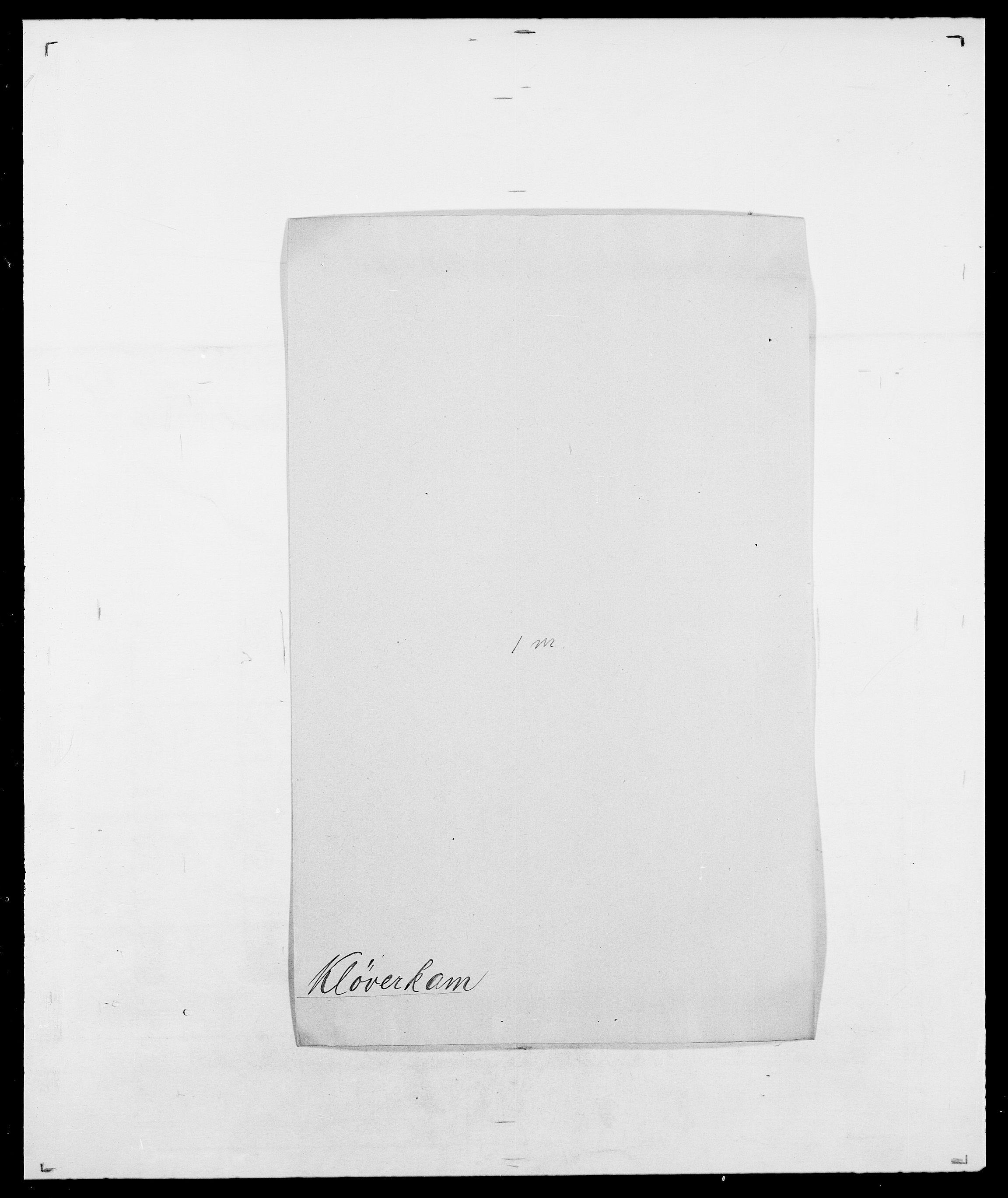 SAO, Delgobe, Charles Antoine - samling, D/Da/L0021: Klagenberg - Kristoft, s. 234