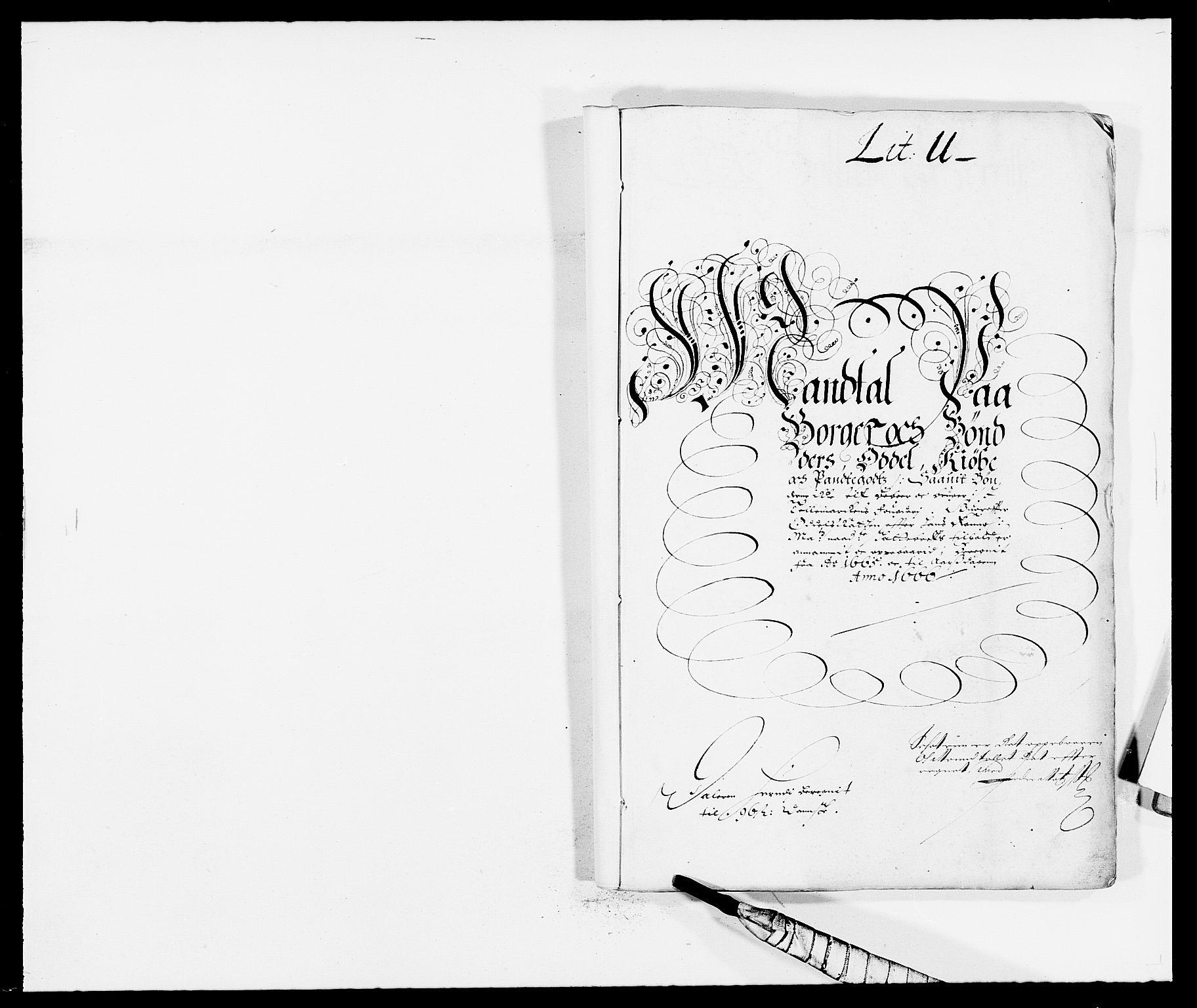 RA, Rentekammeret inntil 1814, Reviderte regnskaper, Fogderegnskap, R35/L2056: Fogderegnskap Øvre og Nedre Telemark, 1665, s. 147