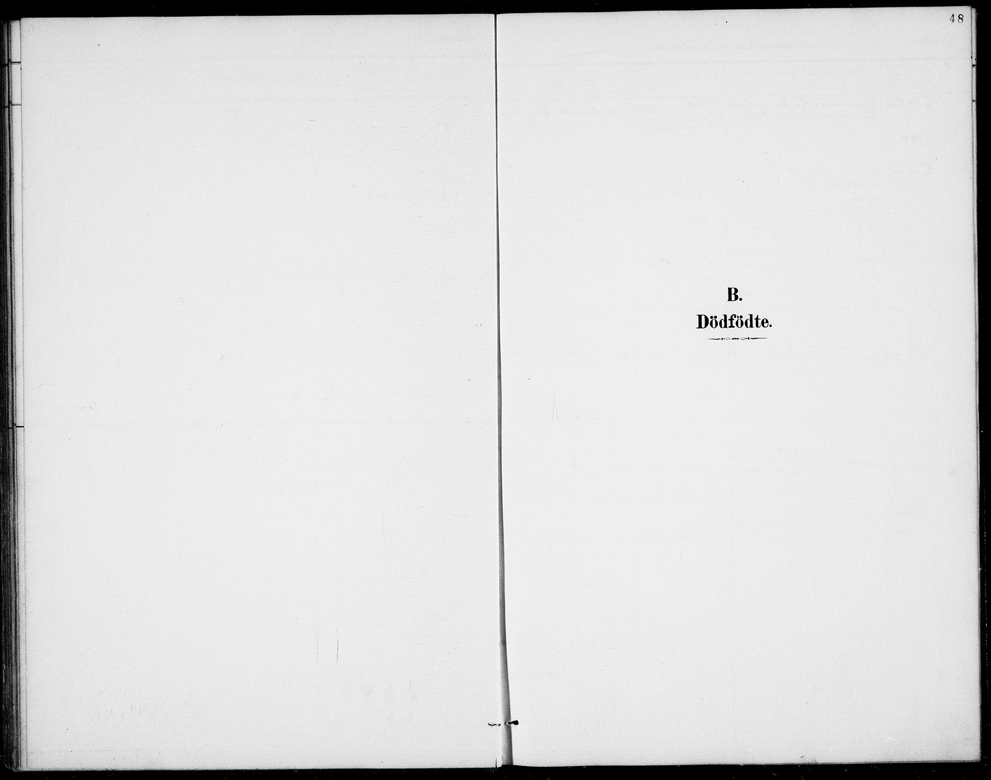 SAKO, Rauland kirkebøker, G/Gb/L0002: Klokkerbok nr. II 2, 1887-1937, s. 48
