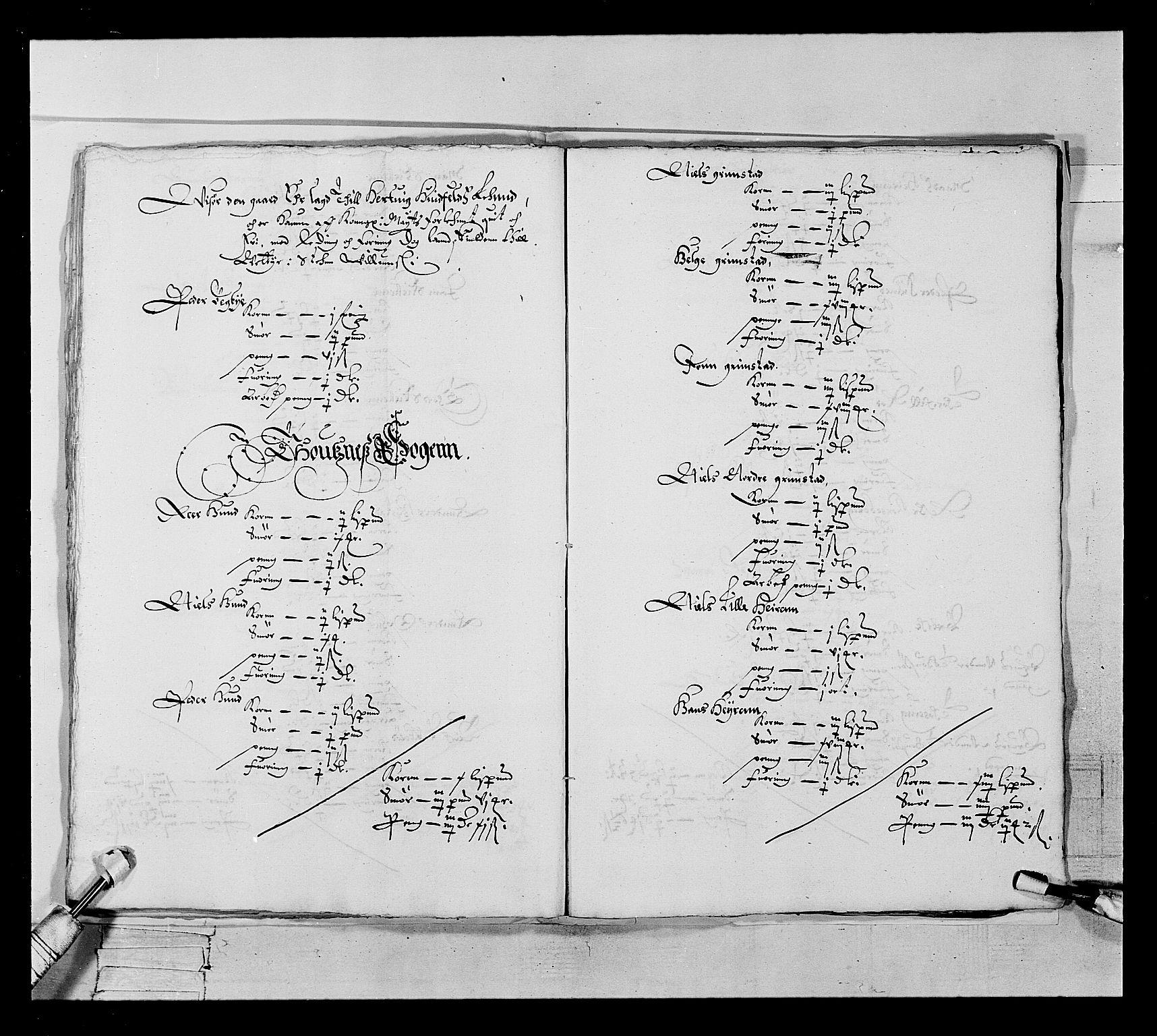 RA, Stattholderembetet 1572-1771, Ek/L0022: Jordebøker 1633-1658:, 1646-1647, s. 25