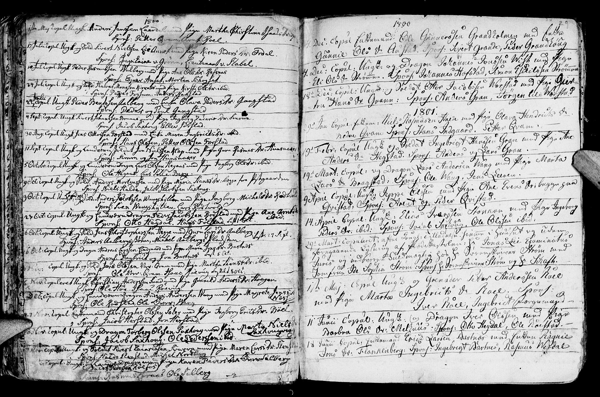 SAT, Ministerialprotokoller, klokkerbøker og fødselsregistre - Nord-Trøndelag, 730/L0273: Ministerialbok nr. 730A02, 1762-1802, s. 29