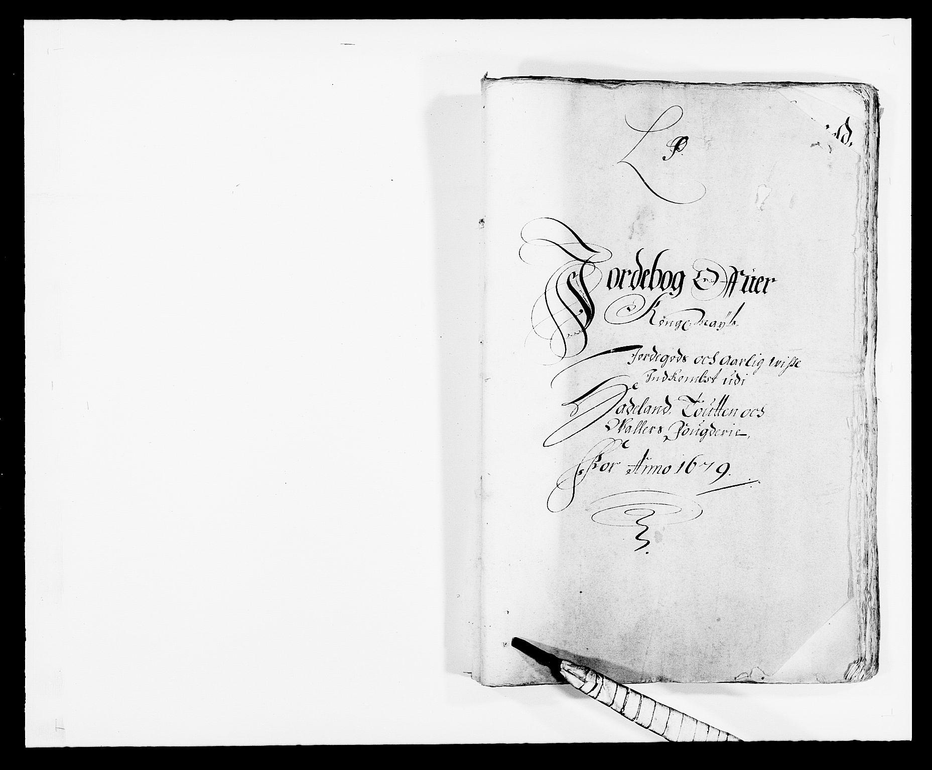 RA, Rentekammeret inntil 1814, Reviderte regnskaper, Fogderegnskap, R18/L1272: Fogderegnskap Hadeland, Toten og Valdres, 1679, s. 12