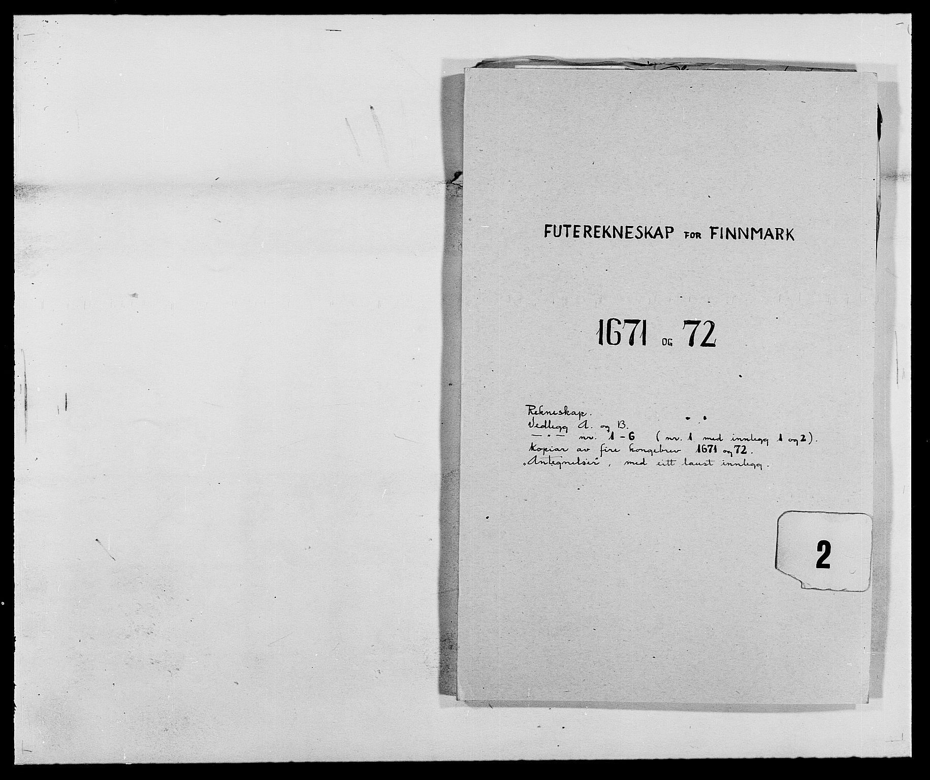 RA, Rentekammeret inntil 1814, Reviderte regnskaper, Fogderegnskap, R69/L4849: Fogderegnskap Finnmark/Vardøhus, 1661-1679, s. 221