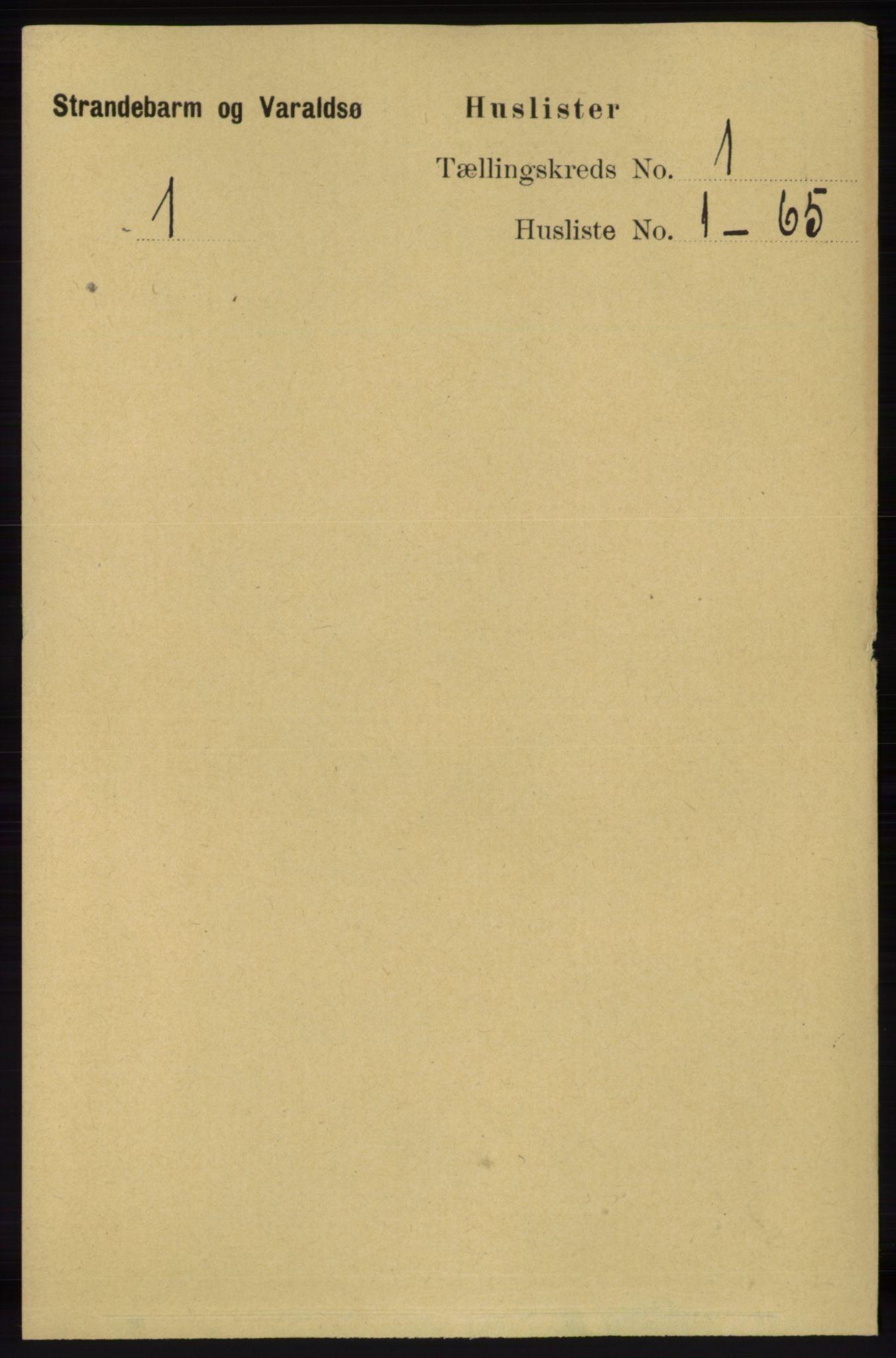 RA, Folketelling 1891 for 1226 Strandebarm og Varaldsøy herred, 1891, s. 23