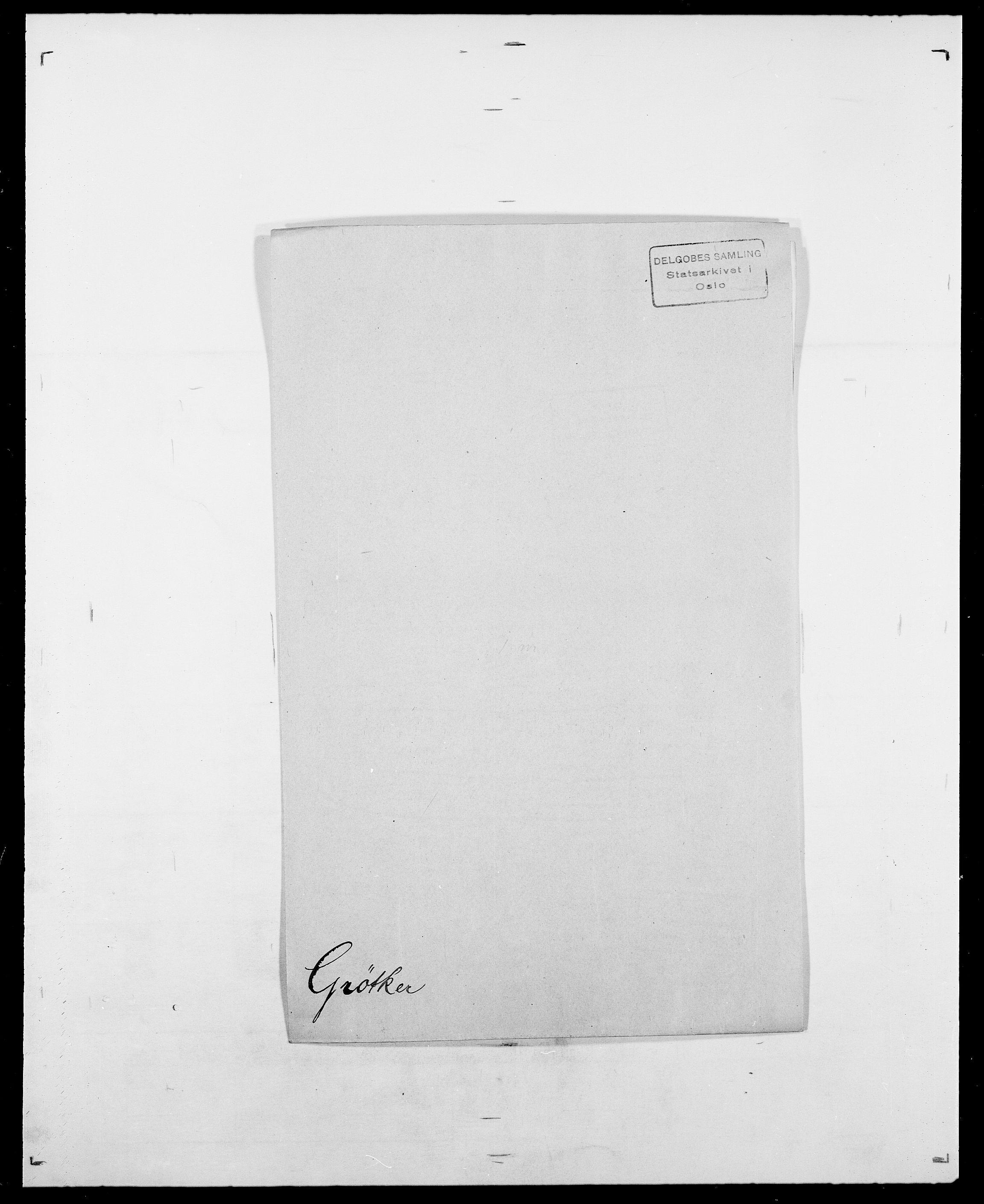 SAO, Delgobe, Charles Antoine - samling, D/Da/L0015: Grodtshilling - Halvorsæth, s. 309