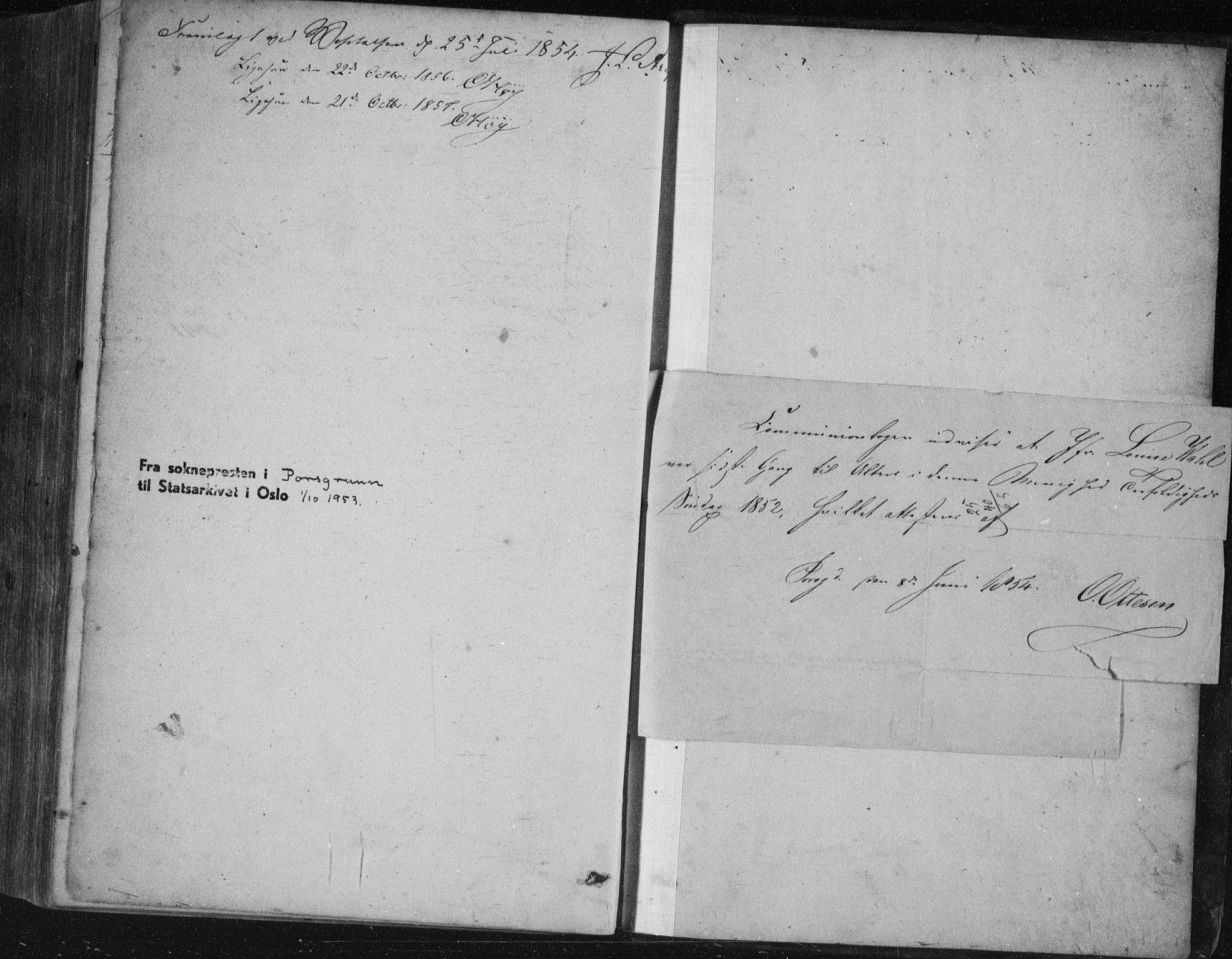 SAKO, Porsgrunn kirkebøker , F/Fa/L0006: Ministerialbok nr. 6, 1841-1857