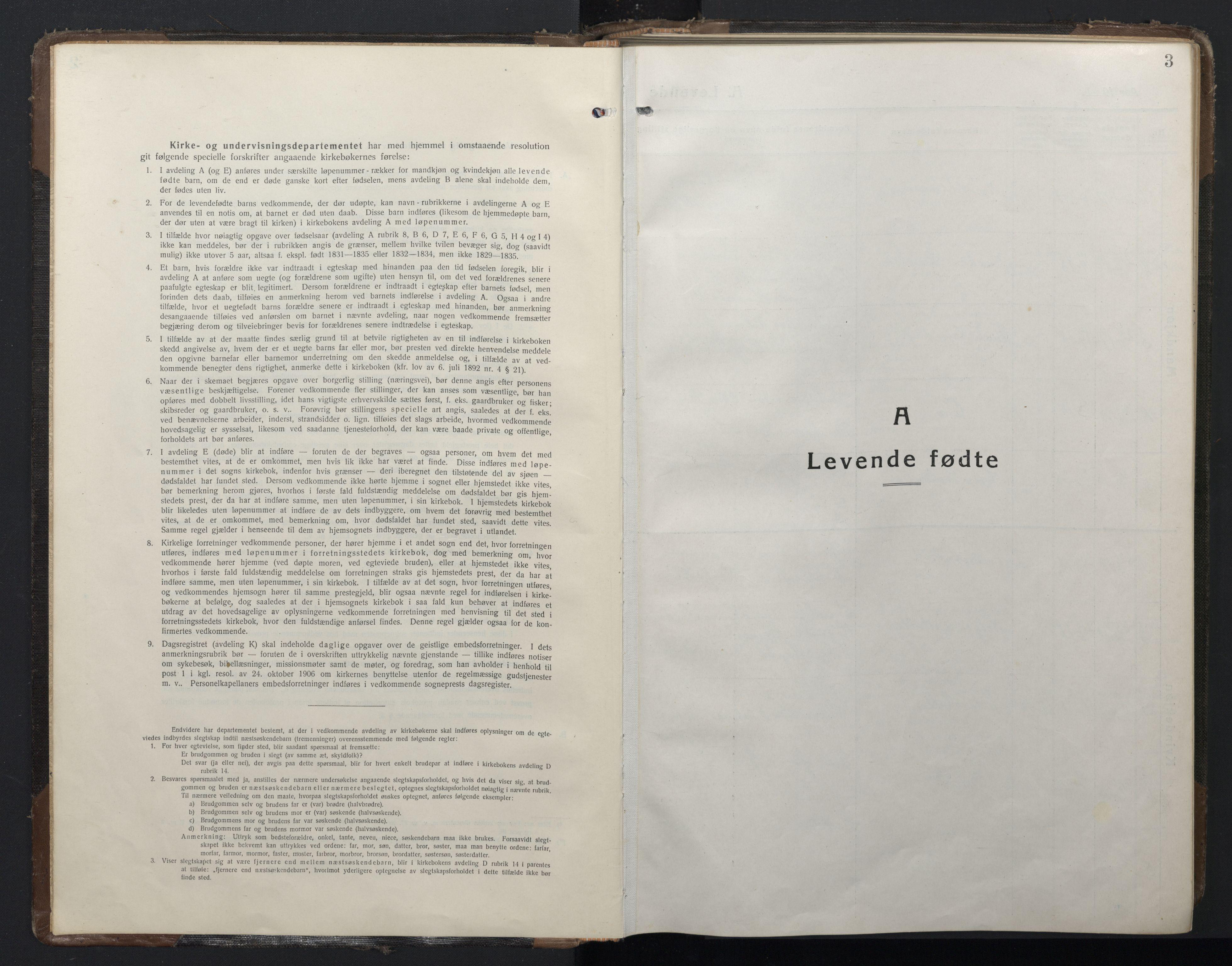 SAT, Ministerialprotokoller, klokkerbøker og fødselsregistre - Sør-Trøndelag, 662/L0758: Klokkerbok nr. 662C03, 1918-1948, s. 3