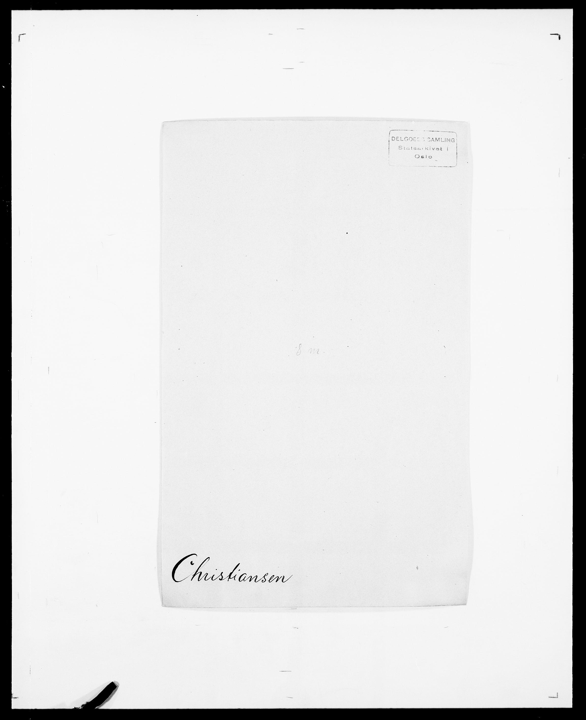 SAO, Delgobe, Charles Antoine - samling, D/Da/L0008: Capjon - Dagenbolt, s. 223