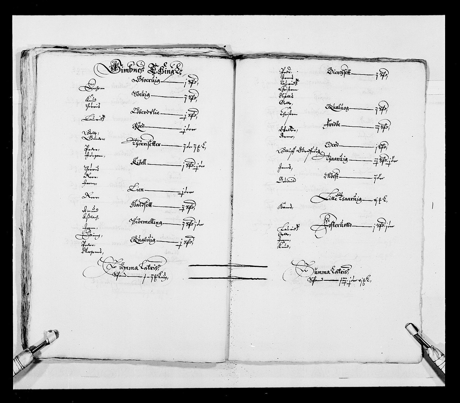 RA, Stattholderembetet 1572-1771, Ek/L0028: Jordebøker 1633-1658:, 1645-1646, s. 45