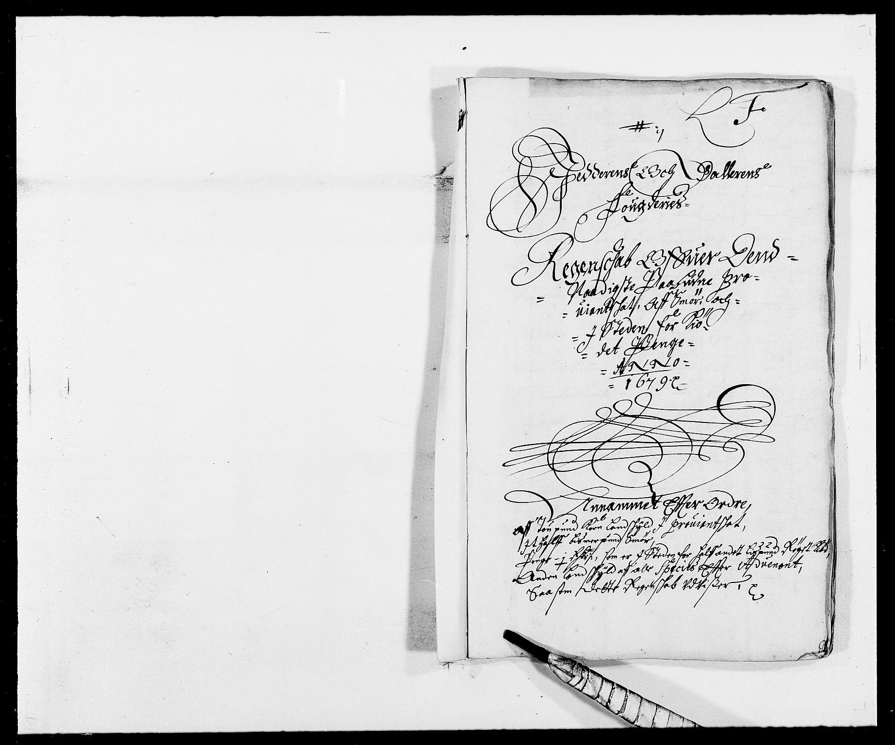 RA, Rentekammeret inntil 1814, Reviderte regnskaper, Fogderegnskap, R46/L2719: Fogderegnskap Jæren og Dalane, 1679, s. 191