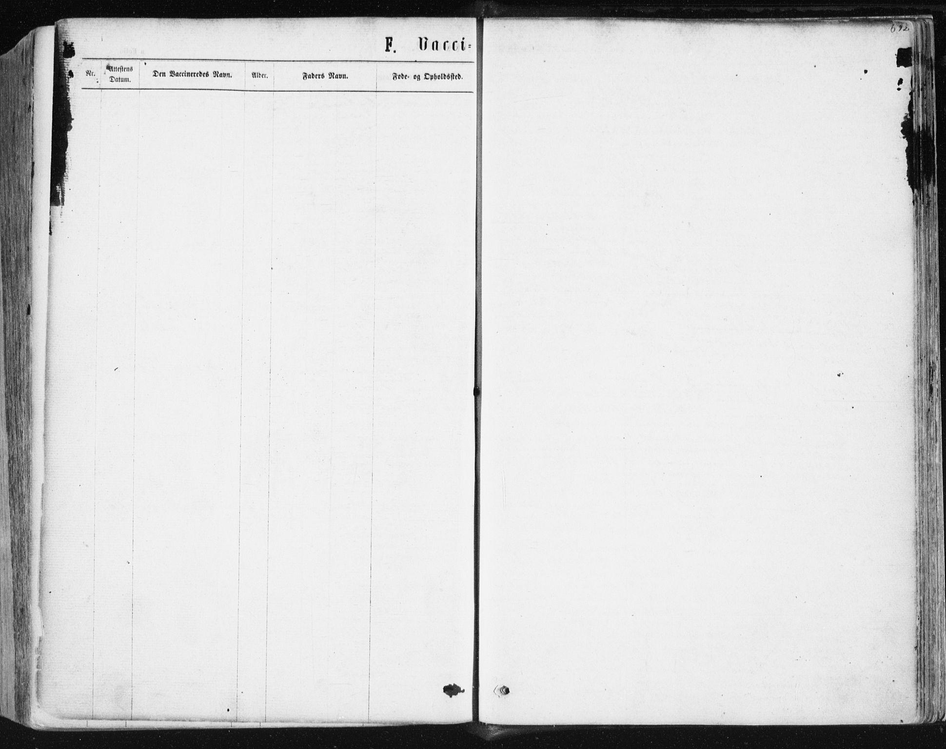 SAT, Ministerialprotokoller, klokkerbøker og fødselsregistre - Sør-Trøndelag, 604/L0186: Ministerialbok nr. 604A07, 1866-1877, s. 692