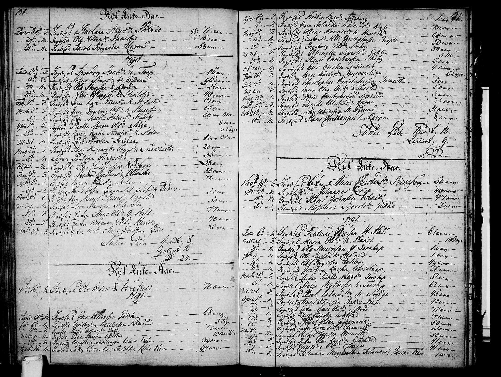 SAKO, Våle kirkebøker, F/Fa/L0005: Ministerialbok nr. I 5, 1773-1808, s. 138-139