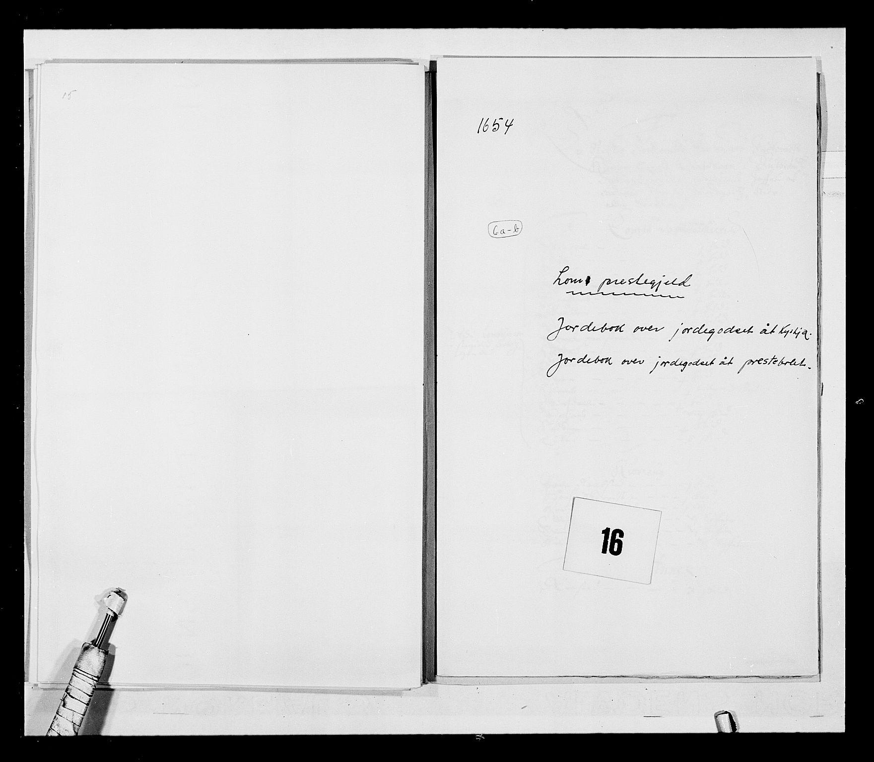 RA, Stattholderembetet 1572-1771, Ek/L0030: Jordebøker 1633-1658:, 1654, s. 69