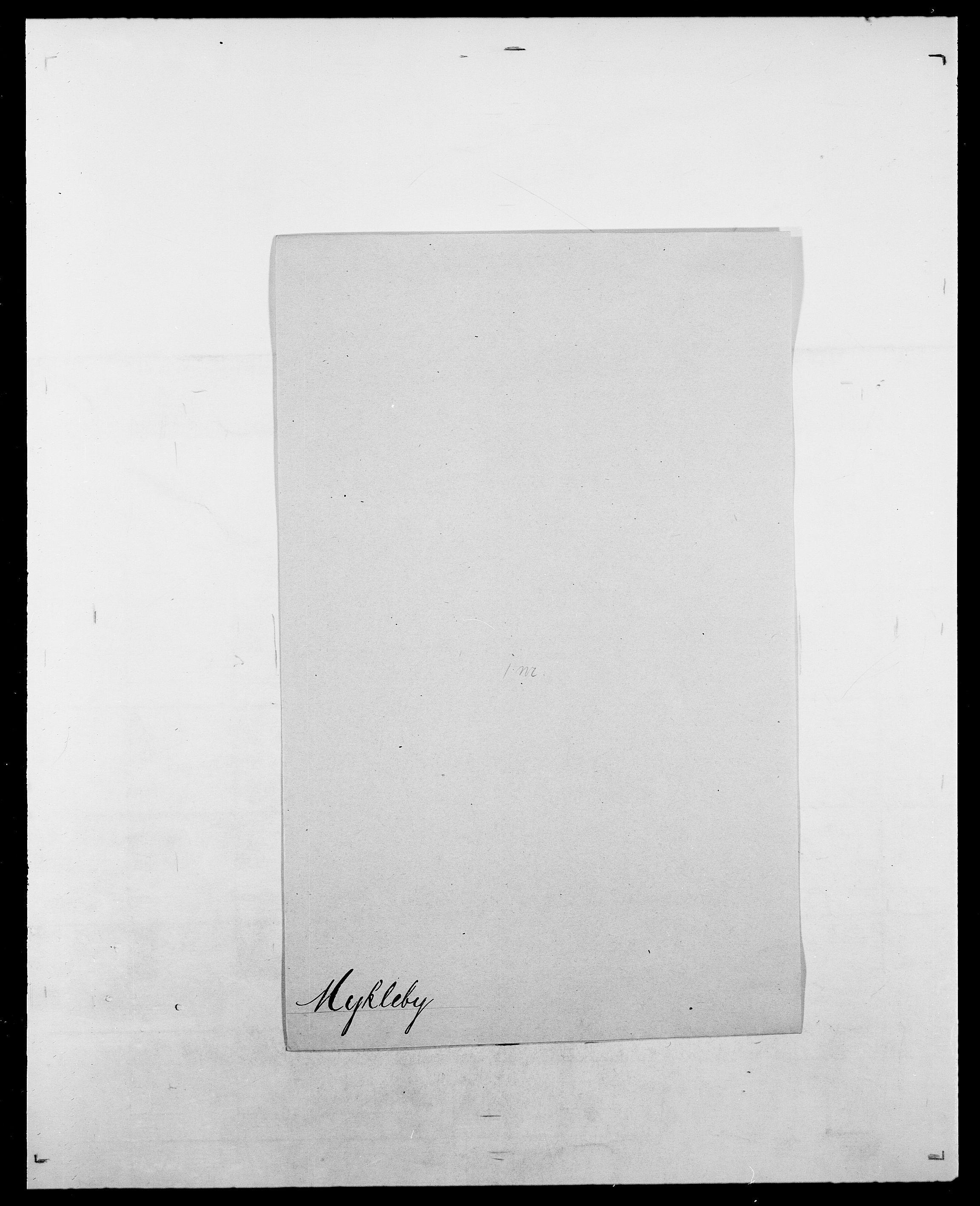 SAO, Delgobe, Charles Antoine - samling, D/Da/L0027: Morath - v. Møsting, s. 358