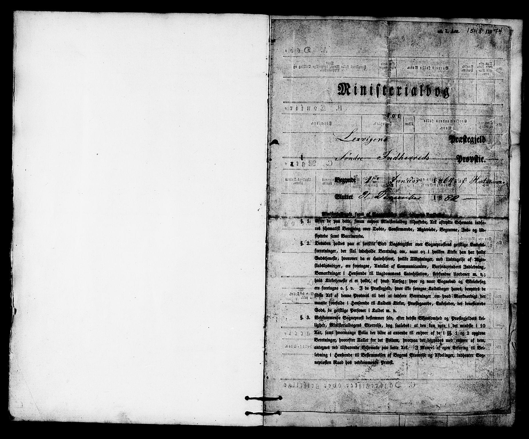 SAT, Ministerialprotokoller, klokkerbøker og fødselsregistre - Nord-Trøndelag, 701/L0009: Ministerialbok nr. 701A09 /2, 1864-1882