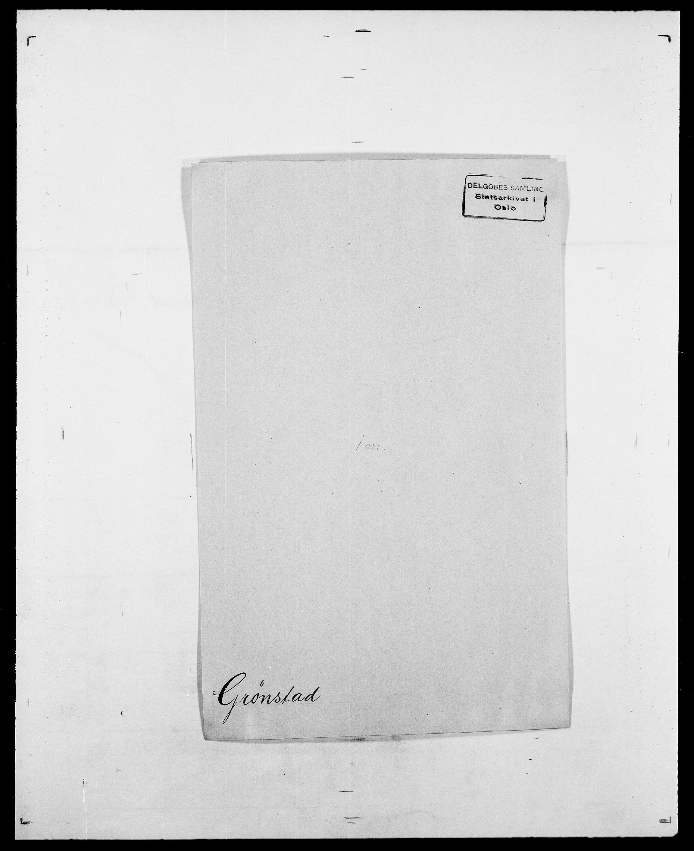 SAO, Delgobe, Charles Antoine - samling, D/Da/L0015: Grodtshilling - Halvorsæth, s. 267