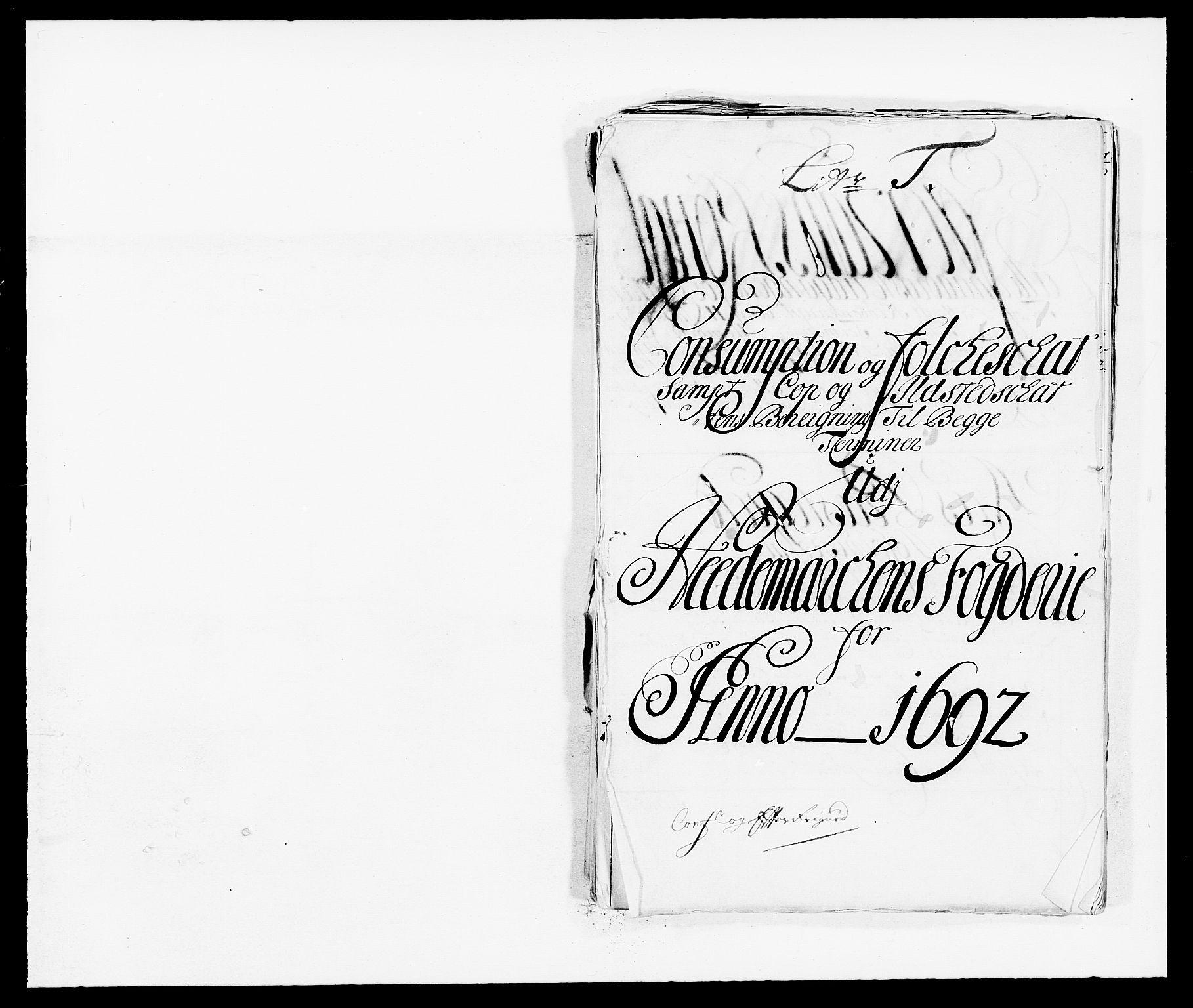RA, Rentekammeret inntil 1814, Reviderte regnskaper, Fogderegnskap, R16/L1031: Fogderegnskap Hedmark, 1689-1692, s. 80