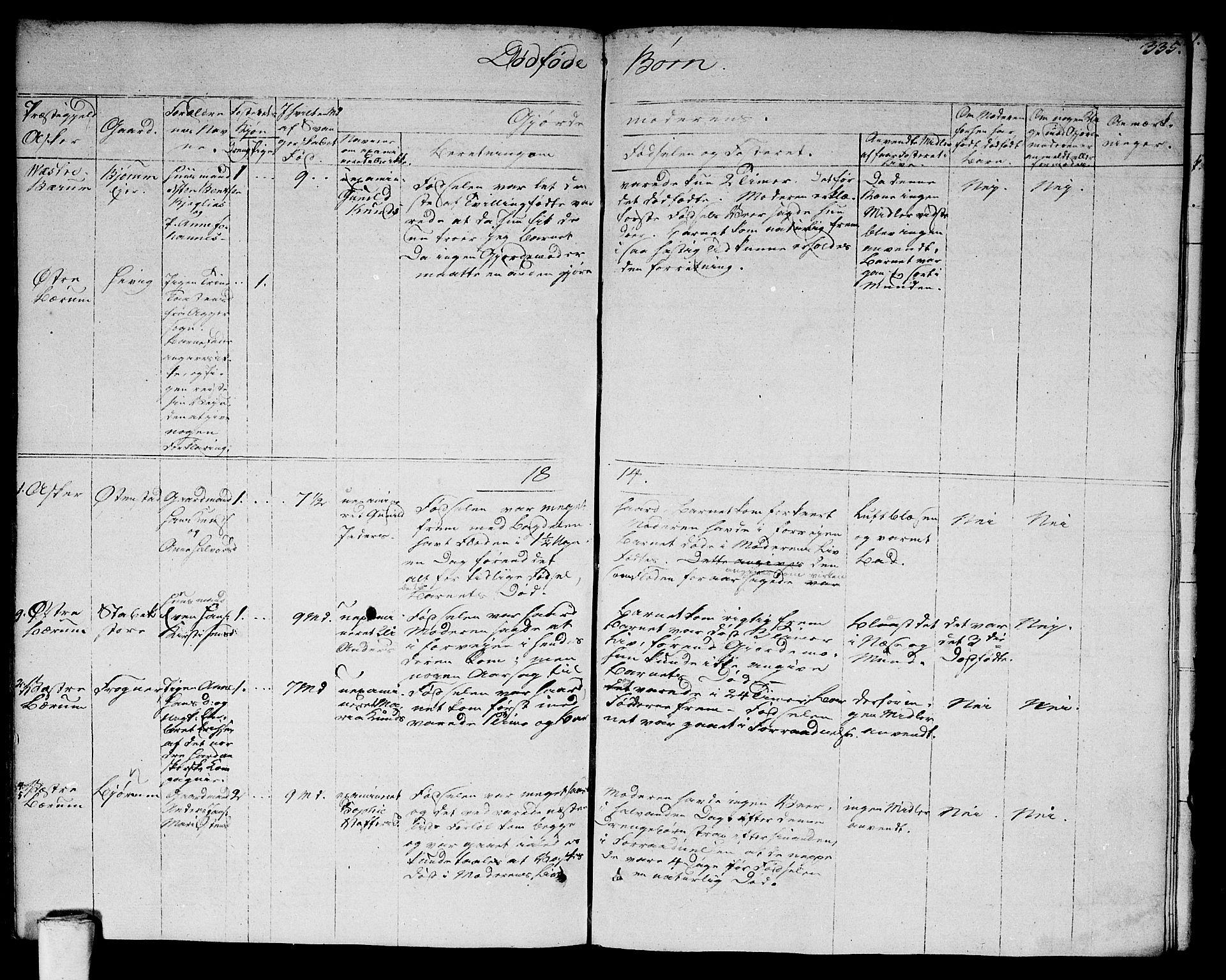 SAO, Asker prestekontor Kirkebøker, F/Fa/L0005: Ministerialbok nr. I 5, 1807-1813, s. 335