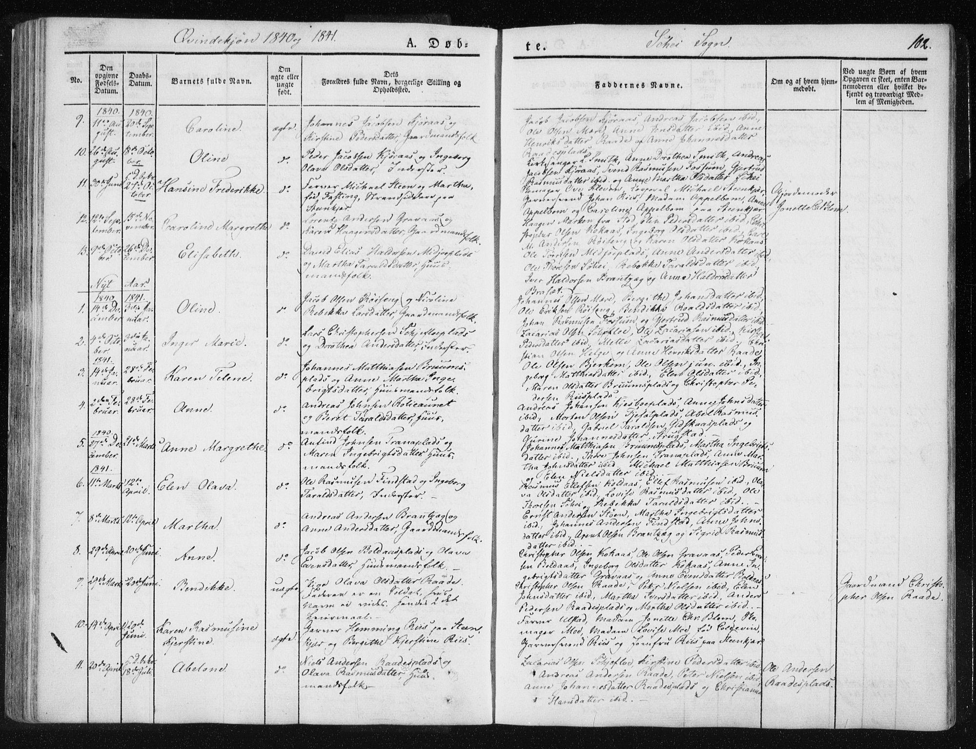 SAT, Ministerialprotokoller, klokkerbøker og fødselsregistre - Nord-Trøndelag, 735/L0339: Ministerialbok nr. 735A06 /2, 1836-1848, s. 102