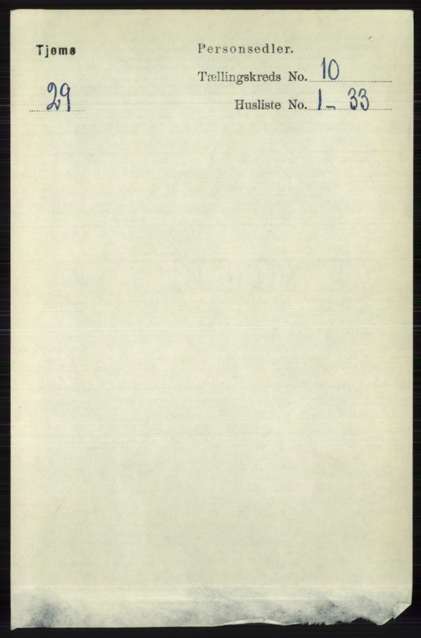RA, Folketelling 1891 for 0723 Tjøme herred, 1891, s. 3718