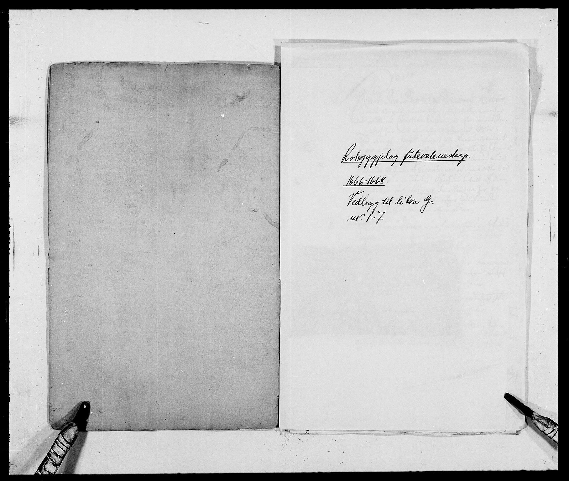 RA, Rentekammeret inntil 1814, Reviderte regnskaper, Fogderegnskap, R40/L2431: Fogderegnskap Råbyggelag, 1664-1668, s. 345