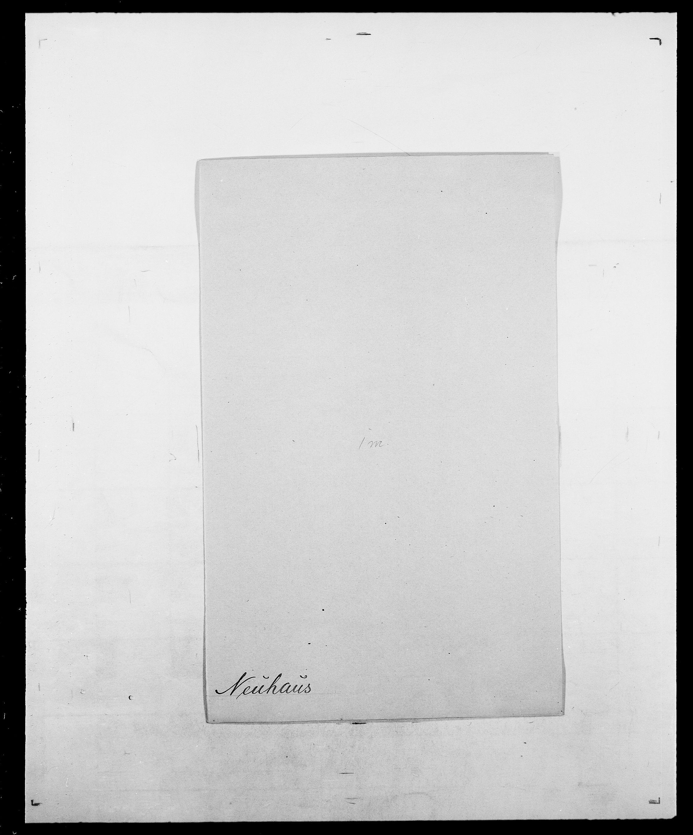 SAO, Delgobe, Charles Antoine - samling, D/Da/L0028: Naaden - Nøvik, s. 136