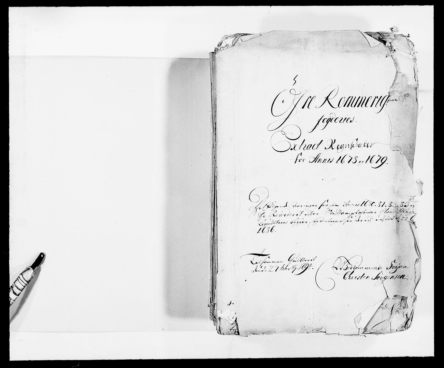 RA, Rentekammeret inntil 1814, Reviderte regnskaper, Fogderegnskap, R12/L0693: Fogderegnskap Øvre Romerike, 1678-1679, s. 2