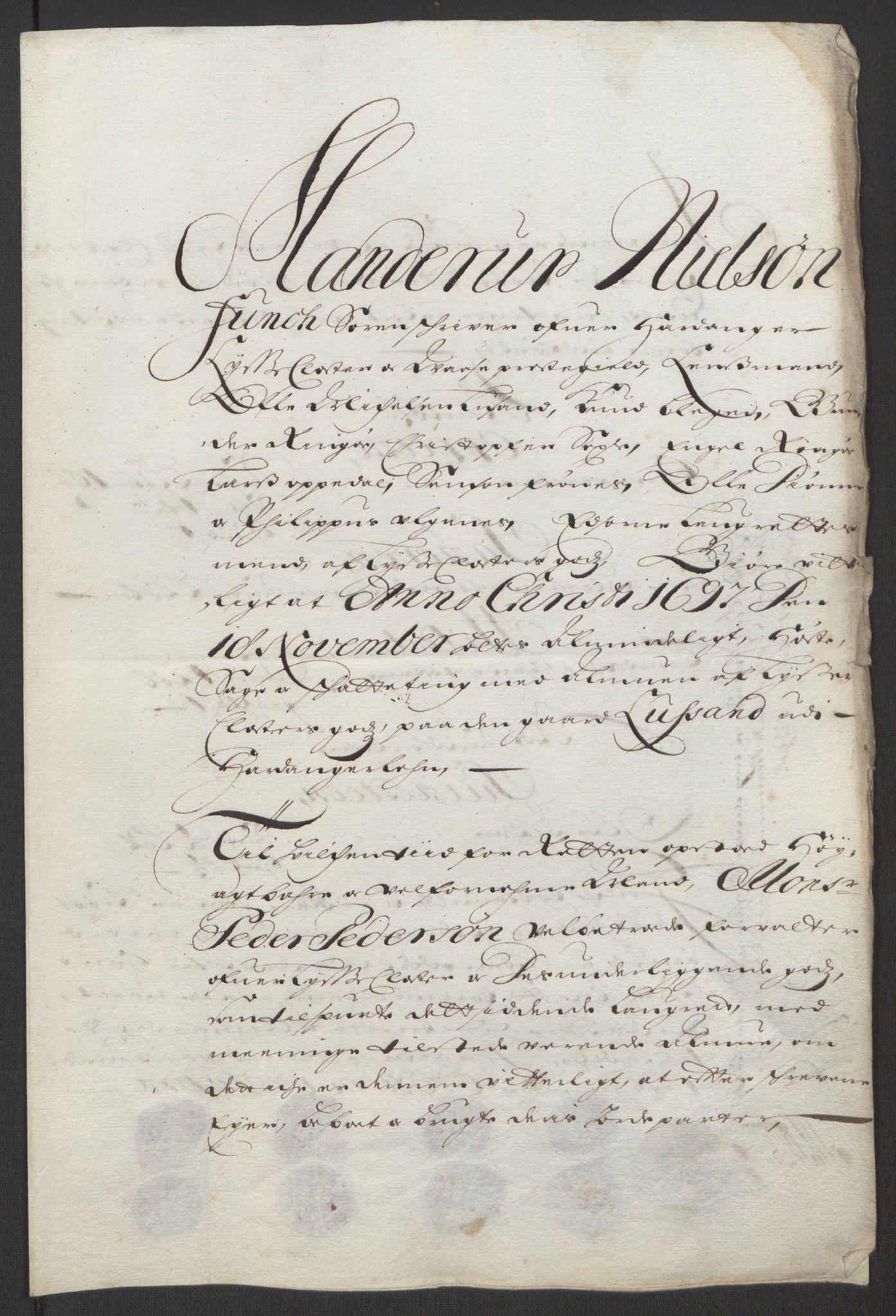 RA, Rentekammeret inntil 1814, Reviderte regnskaper, Fogderegnskap, R50/L3159: Fogderegnskap Lyse kloster, 1691-1709, s. 72