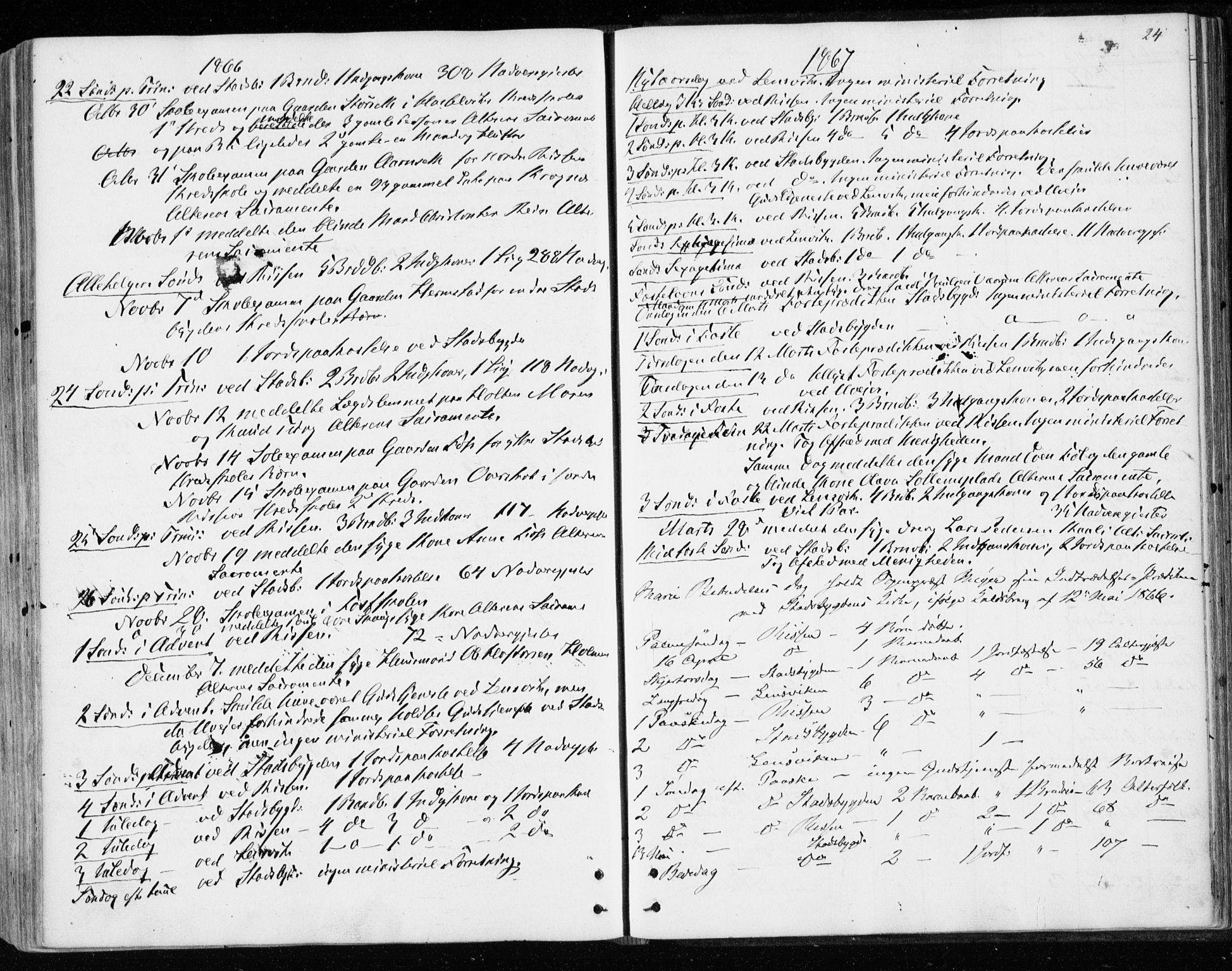 SAT, Ministerialprotokoller, klokkerbøker og fødselsregistre - Sør-Trøndelag, 646/L0612: Ministerialbok nr. 646A10, 1858-1869, s. 24