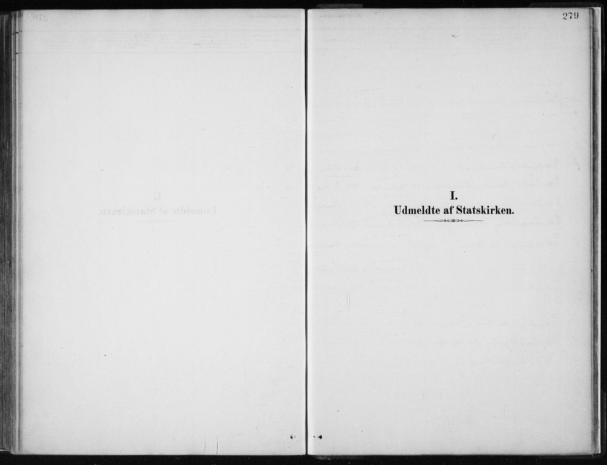 SAB, Masfjorden Sokneprestembete, Ministerialbok nr. B  1, 1876-1899, s. 279
