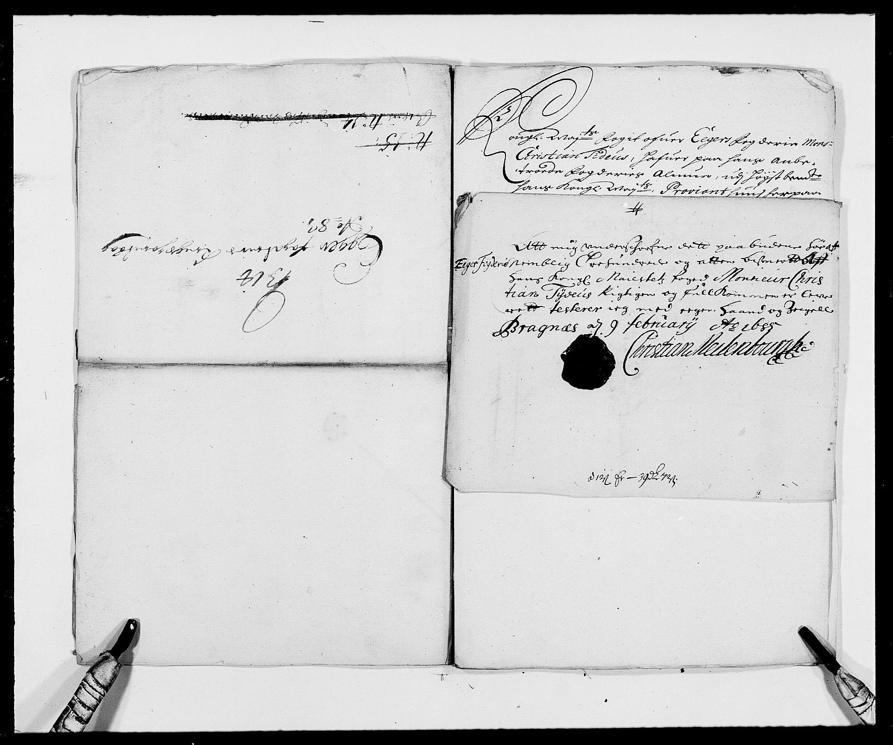 RA, Rentekammeret inntil 1814, Reviderte regnskaper, Fogderegnskap, R26/L1685: Fogderegnskap Eiker, 1679-1686, s. 269