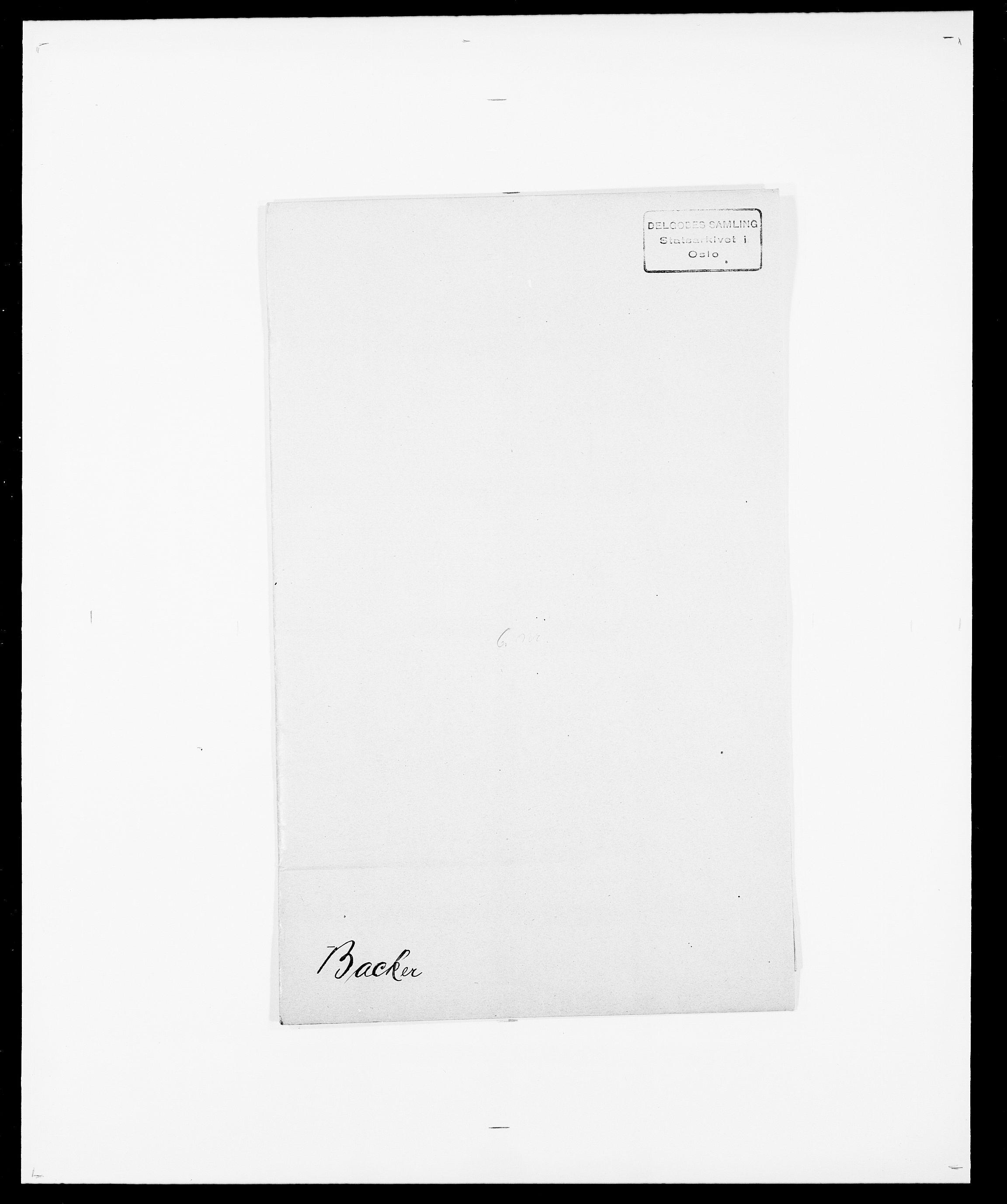 SAO, Delgobe, Charles Antoine - samling, D/Da/L0003: Barca - Bergen, s. 52