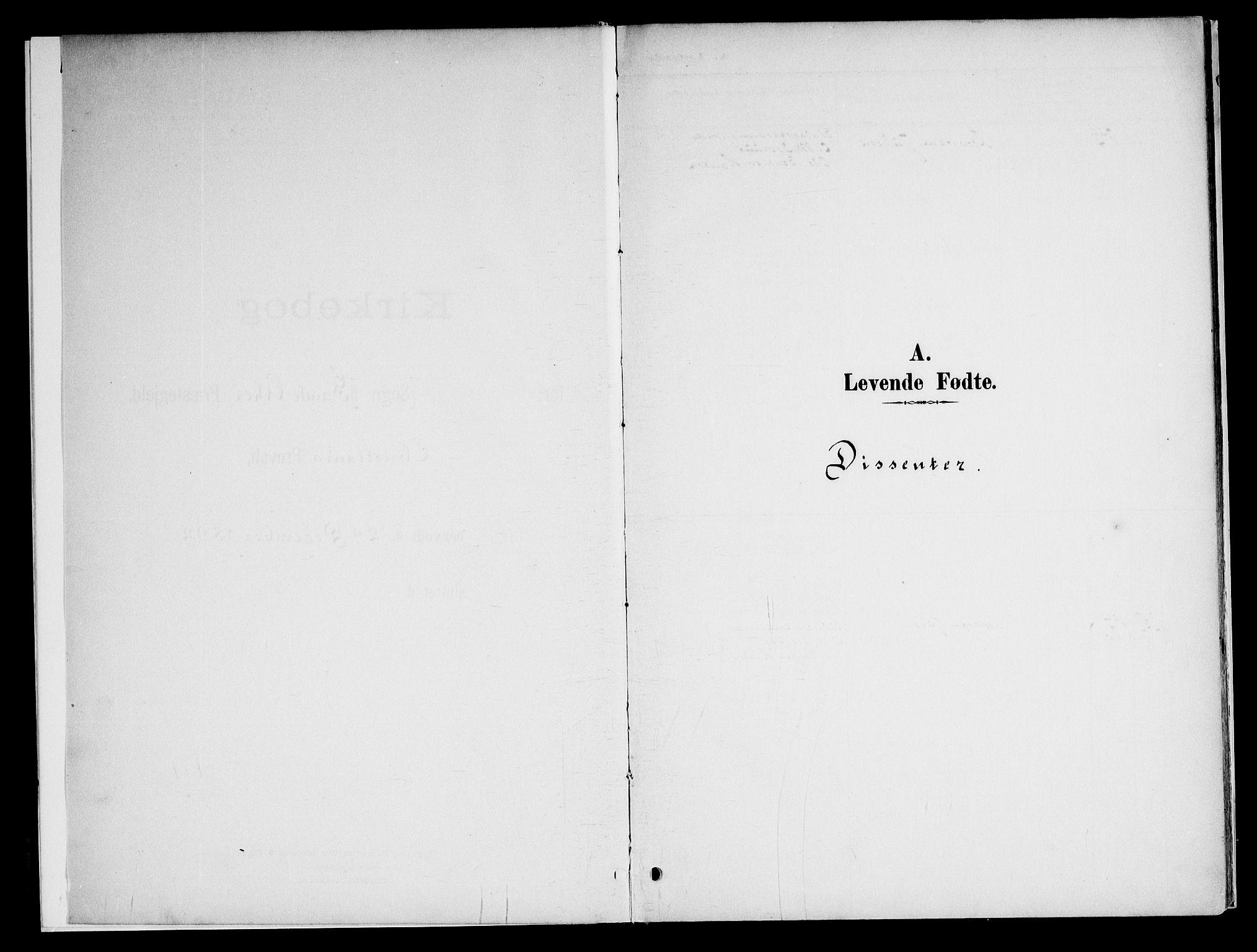 SAO, Gamle Aker prestekontor Kirkebøker, F/L0010: Ministerialbok nr. 10, 1892-1960