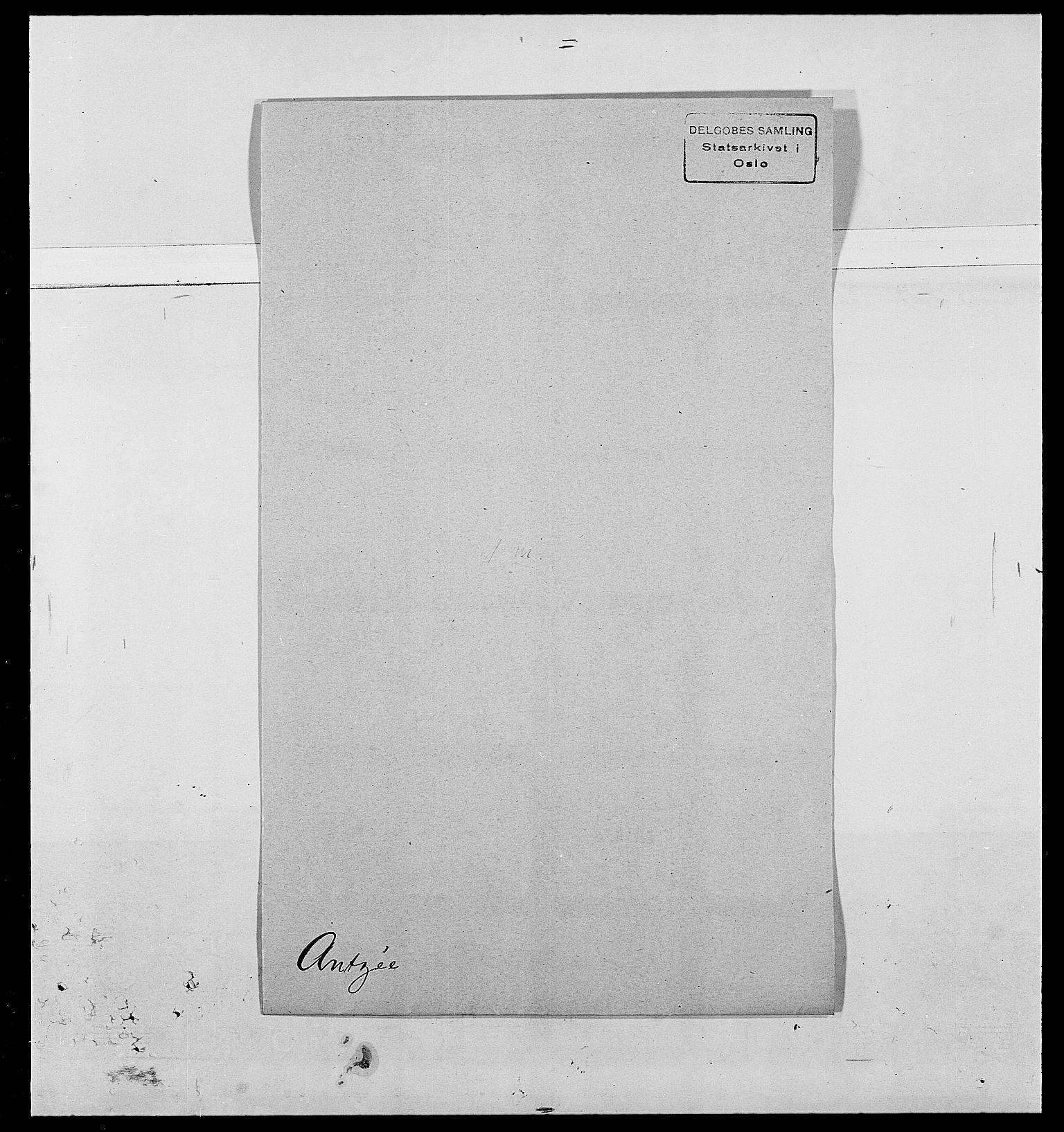 SAO, Delgobe, Charles Antoine - samling, D/Da/L0002: Anker, Ancher - Bauner, s. 200
