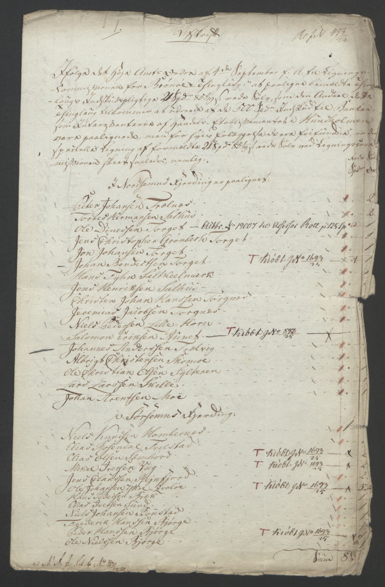 NOBA, Norges Bank/Sølvskatten 1816*, 1816-1823, s. 12
